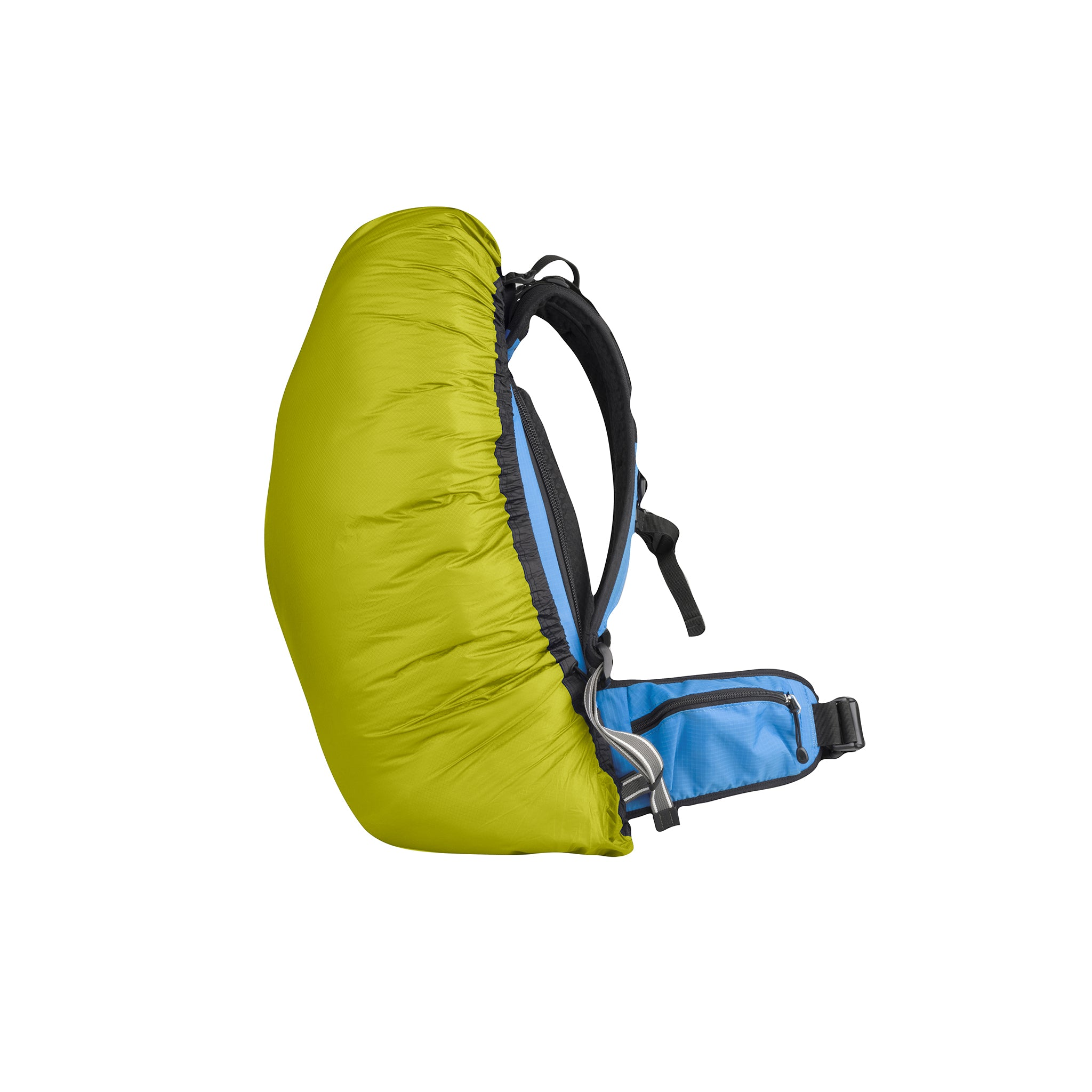 Ultra Sil _ Lightweight Waterproof Rucksack Cover _ Lime _ Small