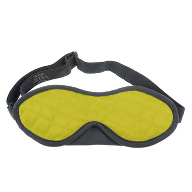 Travelling Light _ Eye Shades _ sleep mask _ yellow
