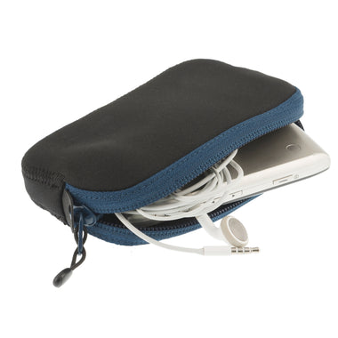 Travelling Light _ Padded Pouch _ phone protection _ blue