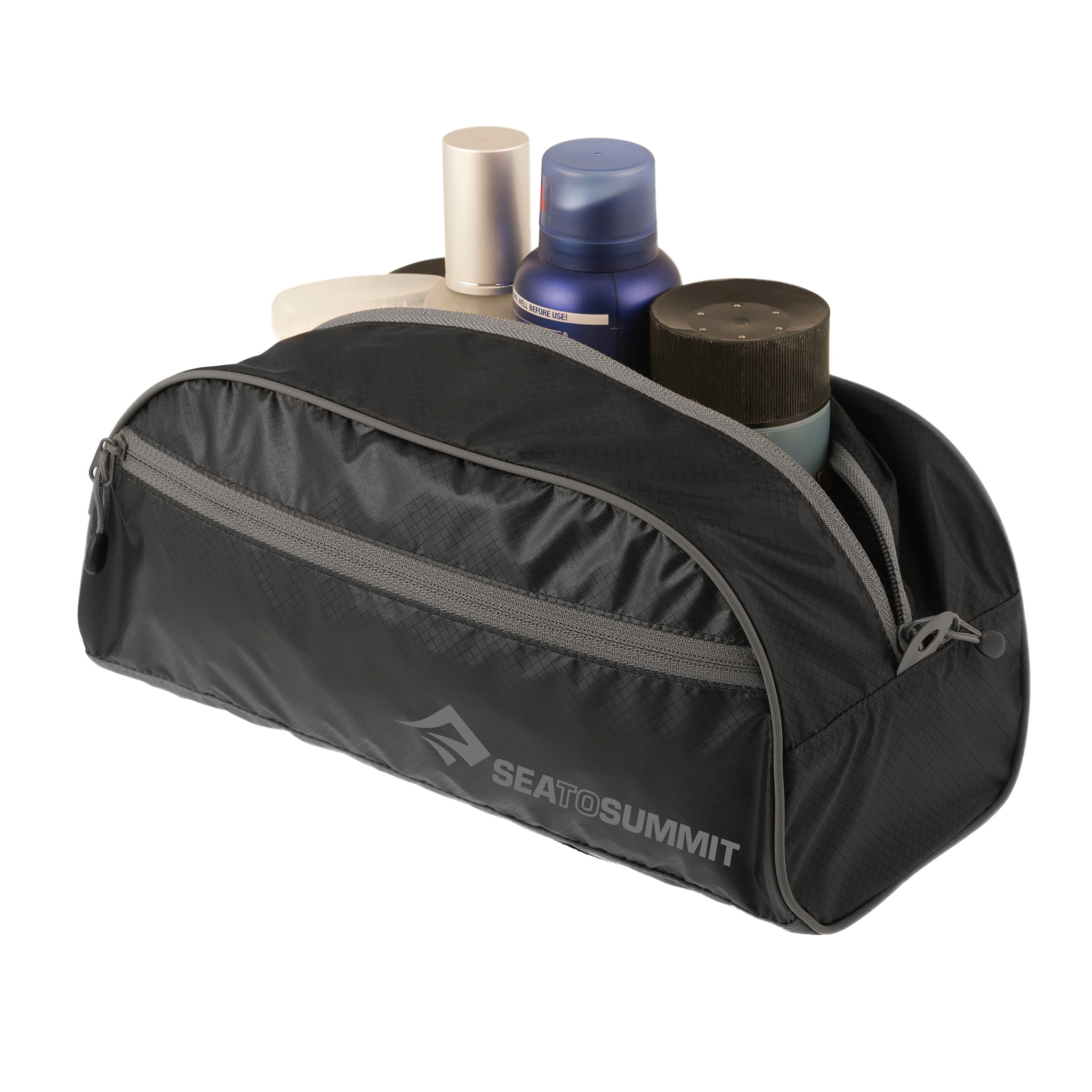 Travelling Light _Toiletry Bag _ waterproof _ large _ black
