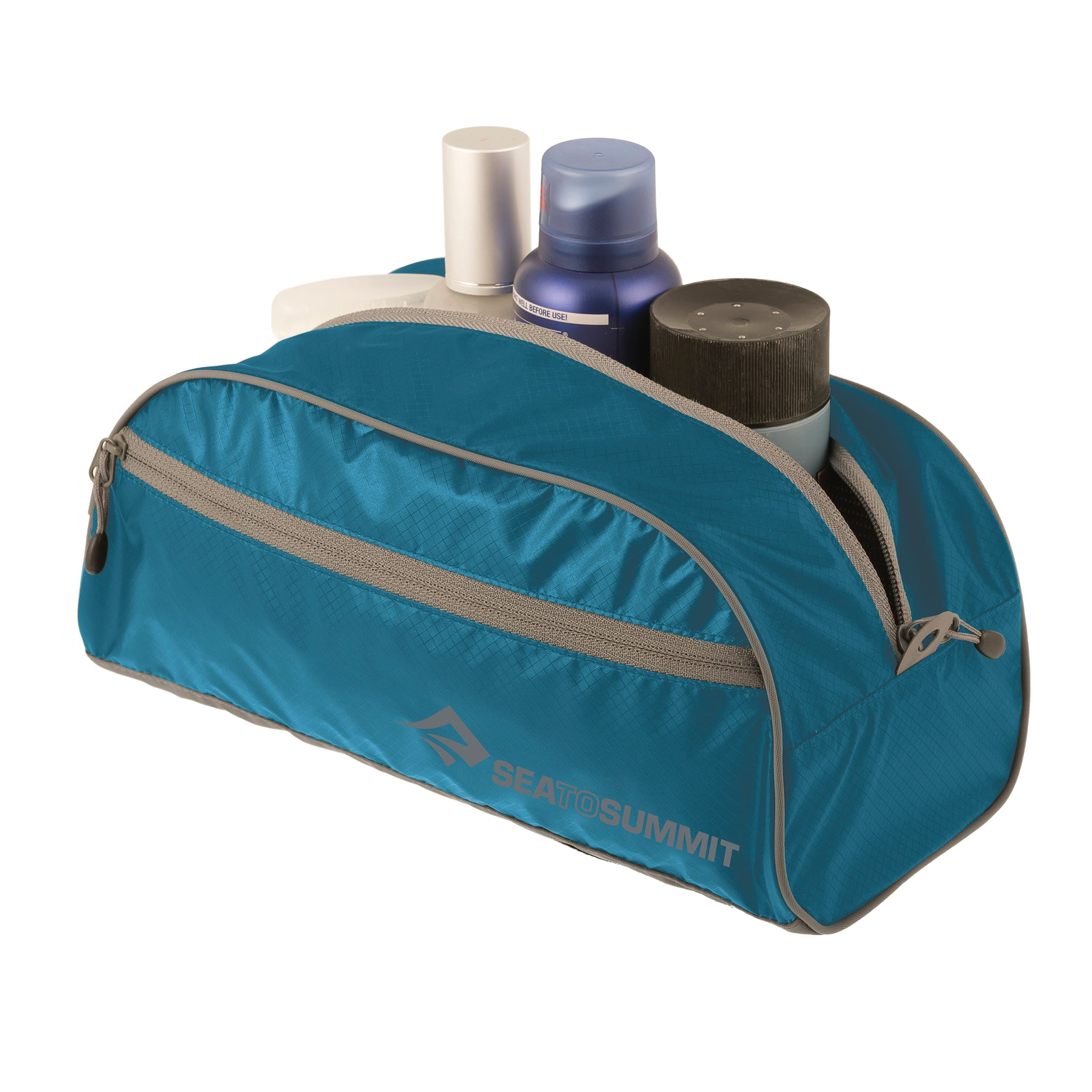 Travelling Light _Toiletry Bag _ waterproof _ large _ pacific blue
