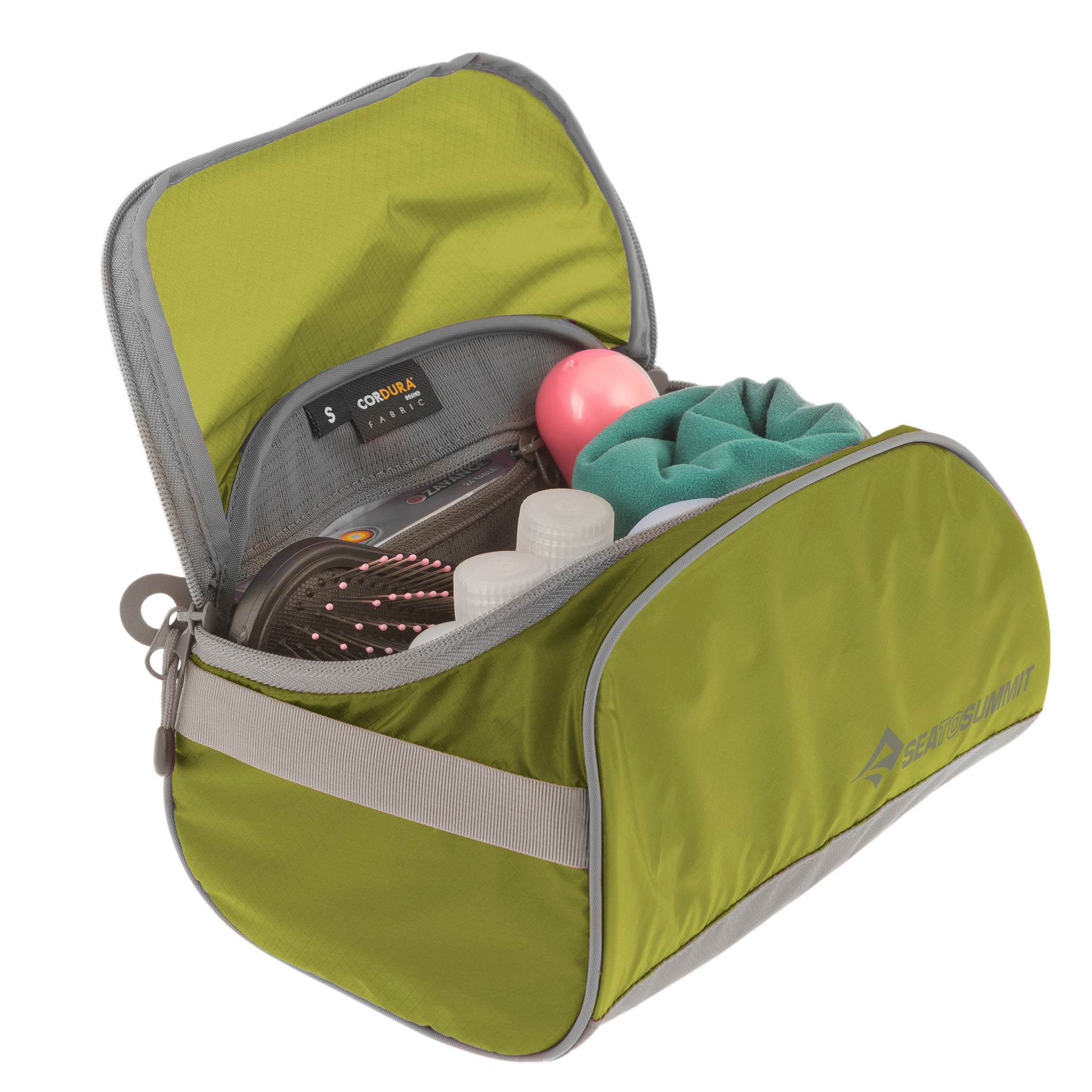 Travelling Light _Toiletry Cell _ waterproof _ Lime