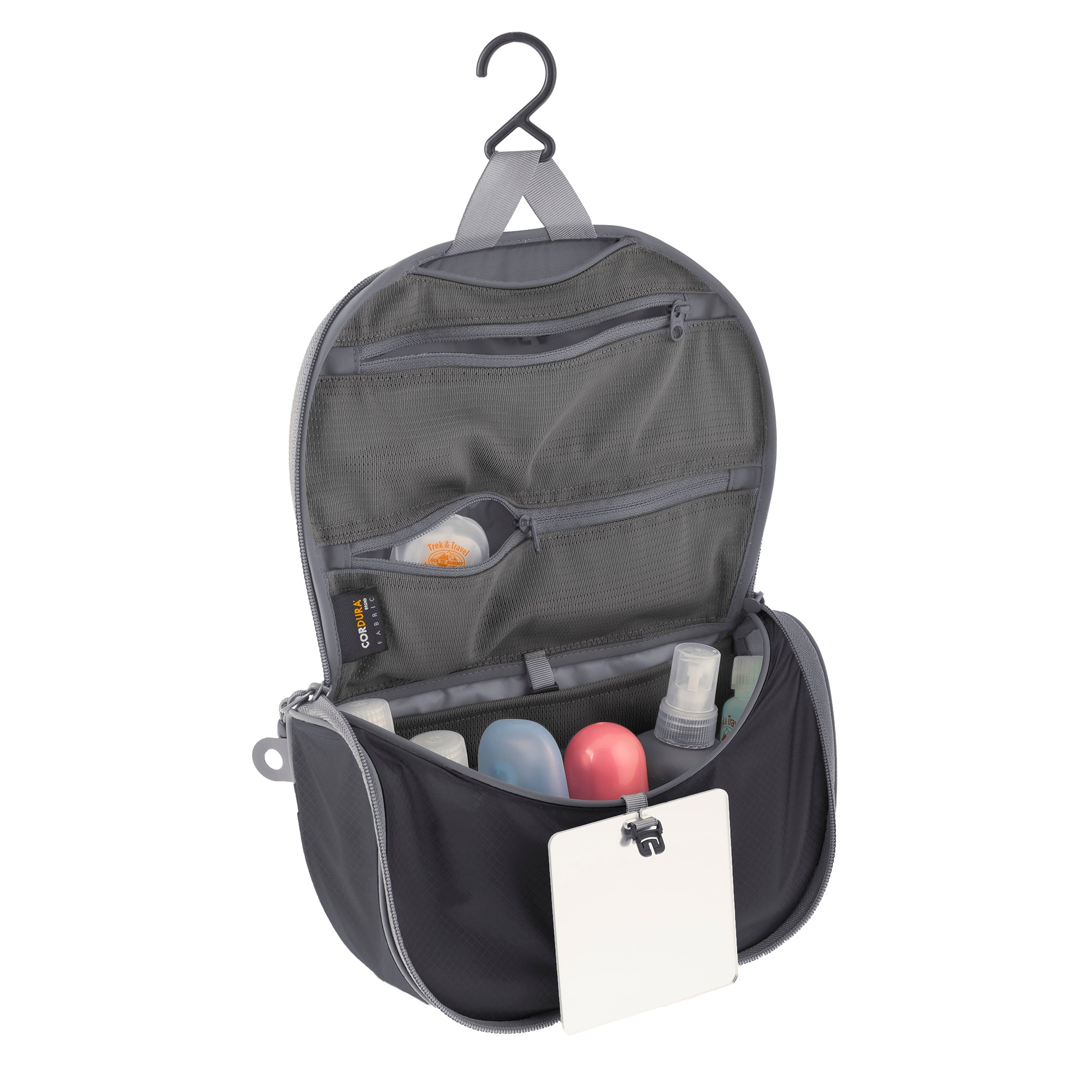 Travelling Light _ Hanging Travel Toiletry Bag _ Black