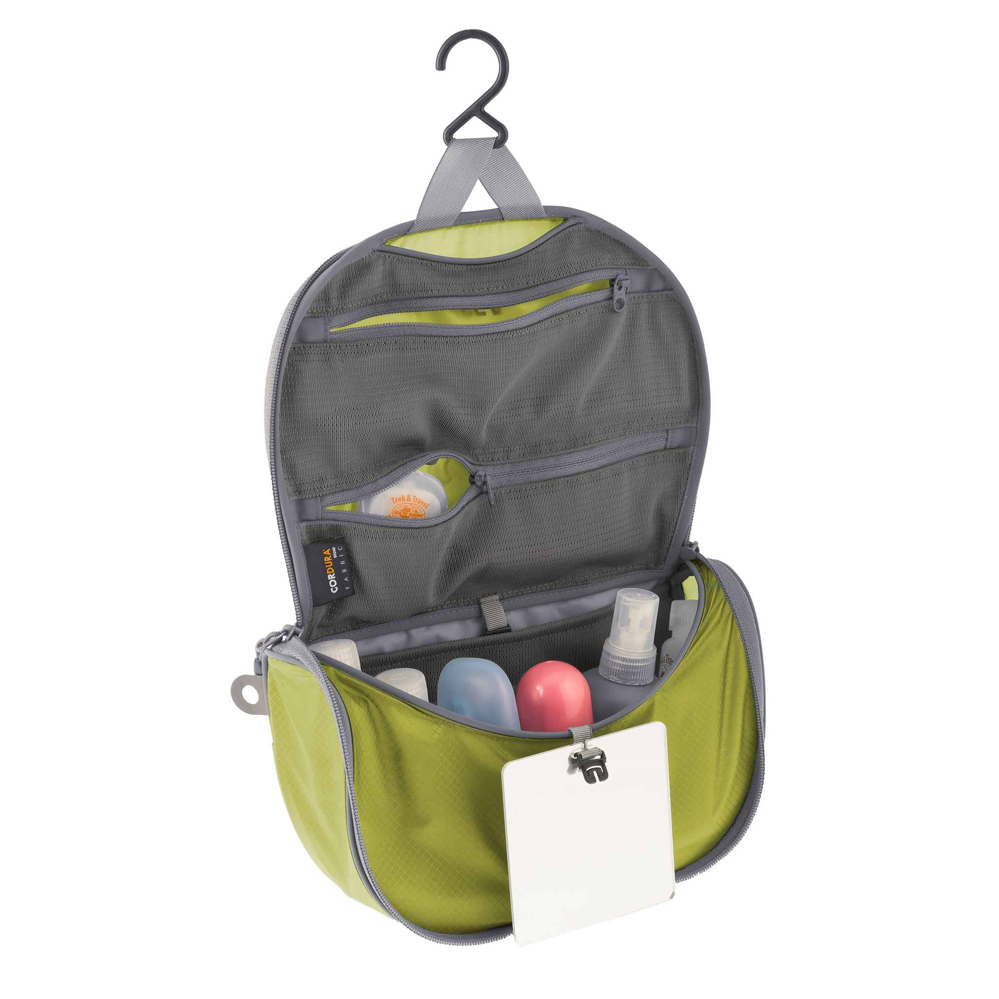 Travelling Light _ Hanging Travel Toiletry Bag _ lime