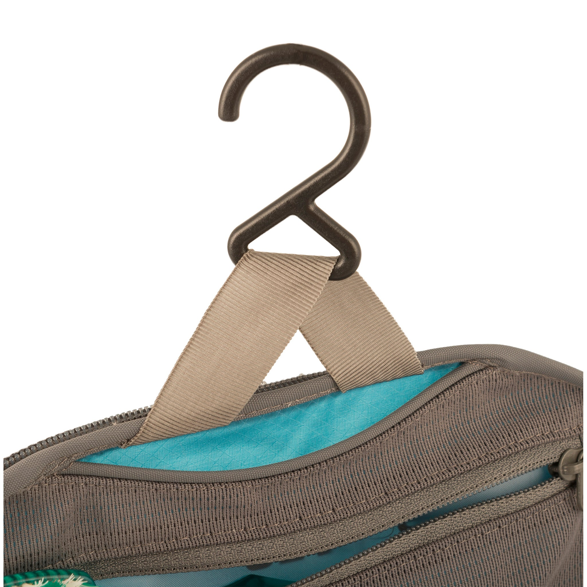 Travelling Light _ Hanging Travel Toiletry Bag _ Hook
