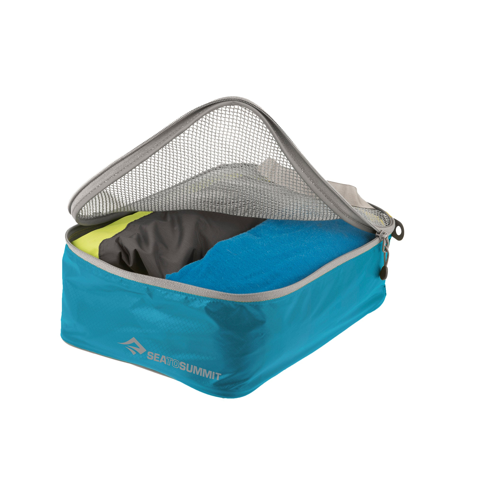 Travelling Light _ Travel Packing Garment Mesh Bag _ blue