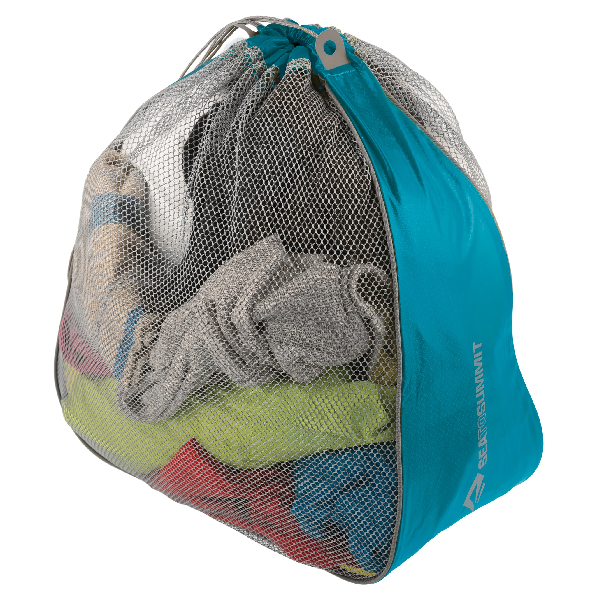 Travel Packing Laundry Bags _ pacific blue