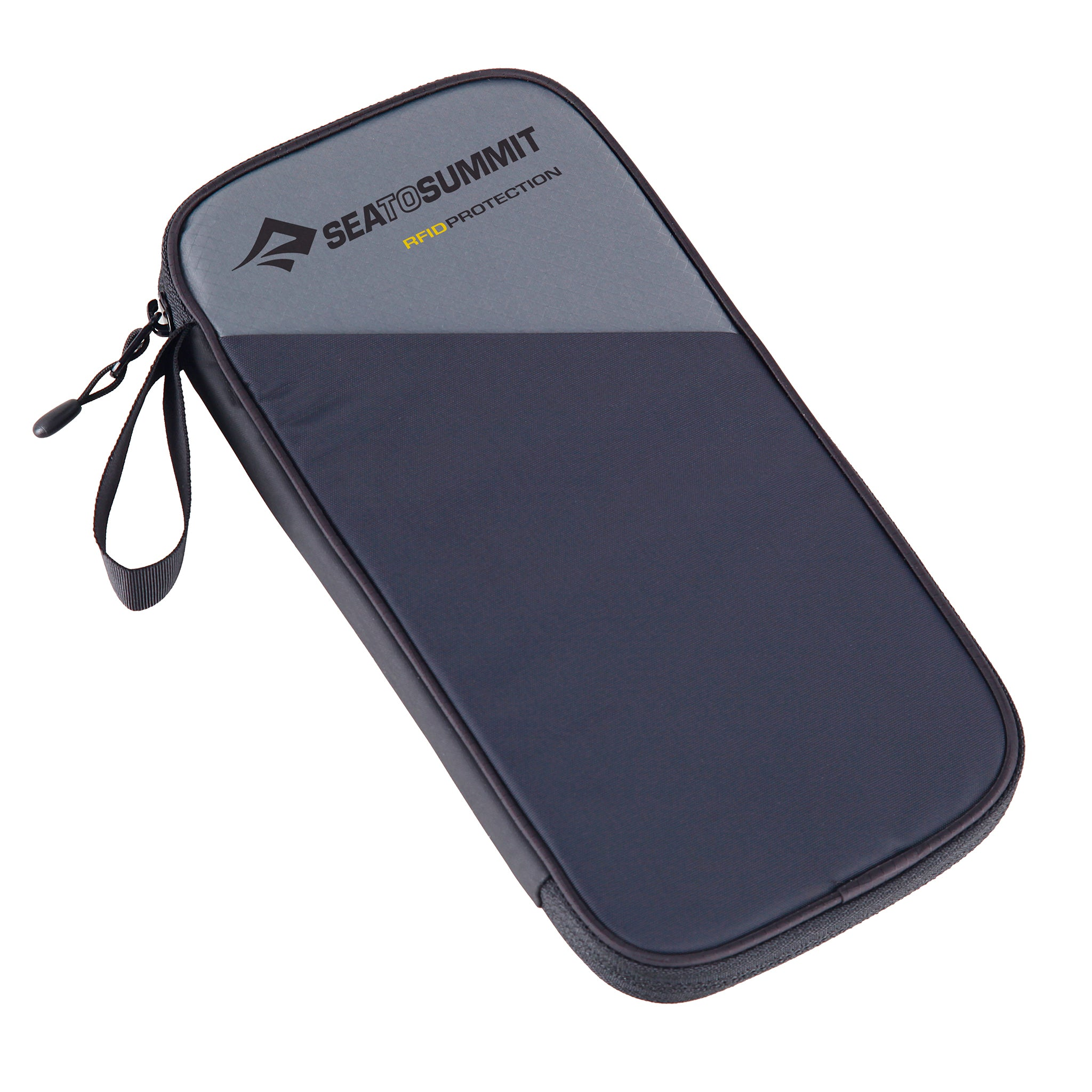 RFID card protector _ Travel Wallet _ large _ Black