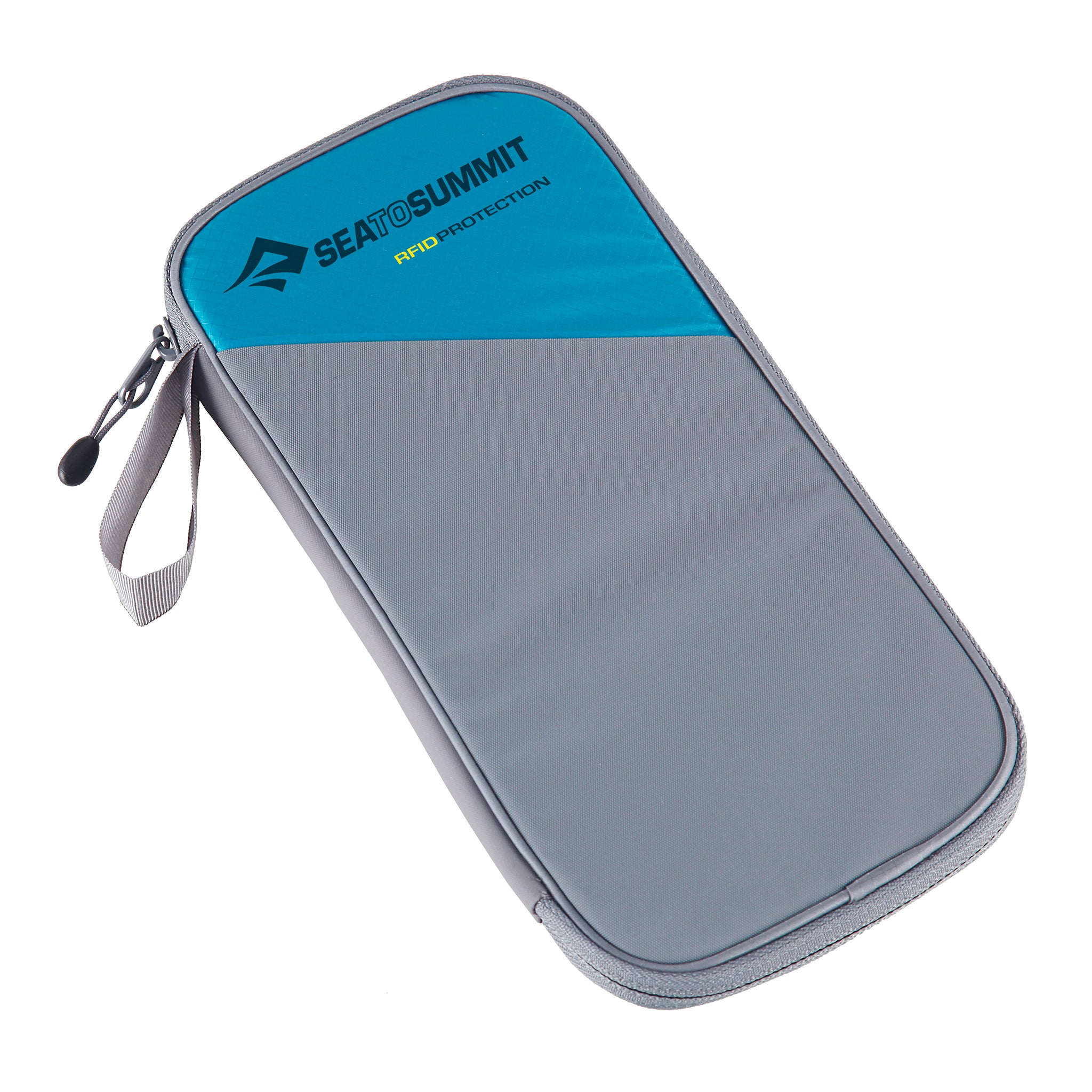RFID card protector _ Travel Wallet _ large _ pacific blue