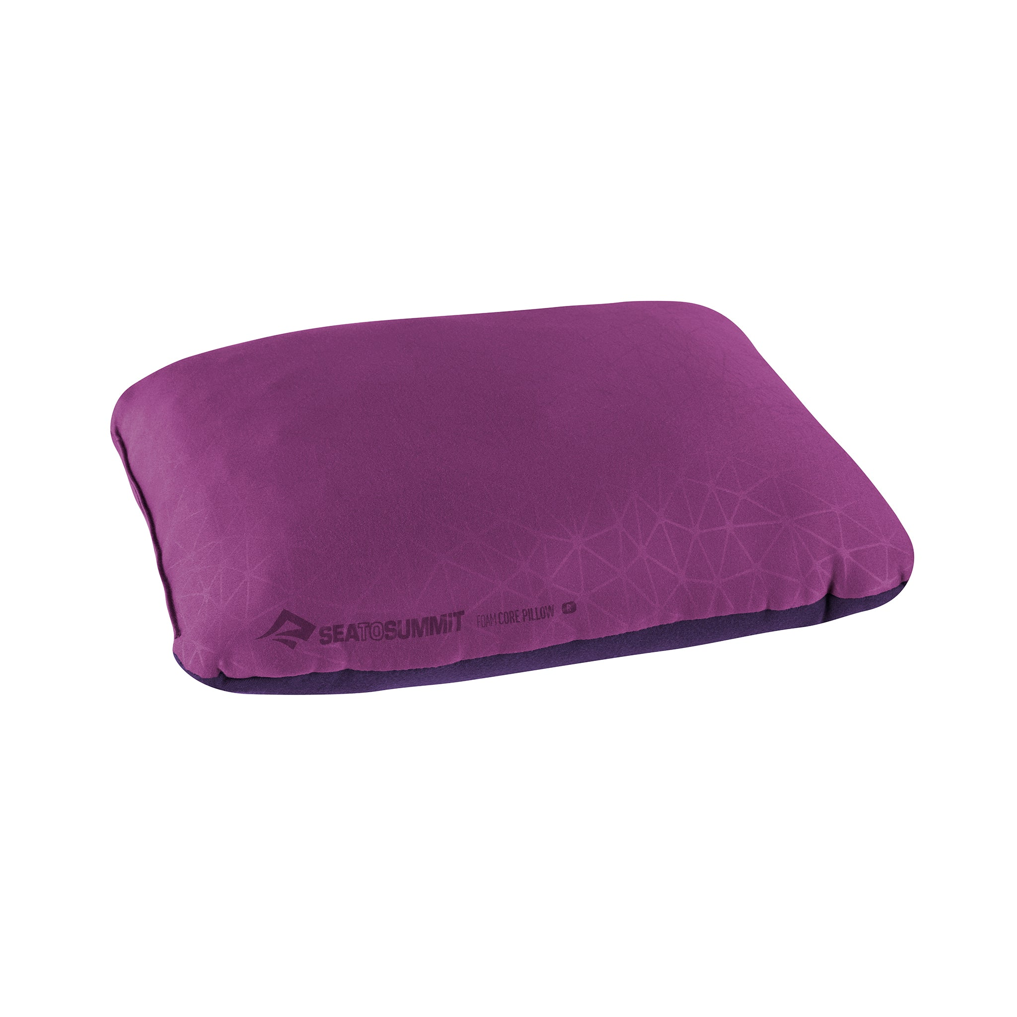 Foamcore Camping Pillow _ Magenta _ Full Size _ Regular