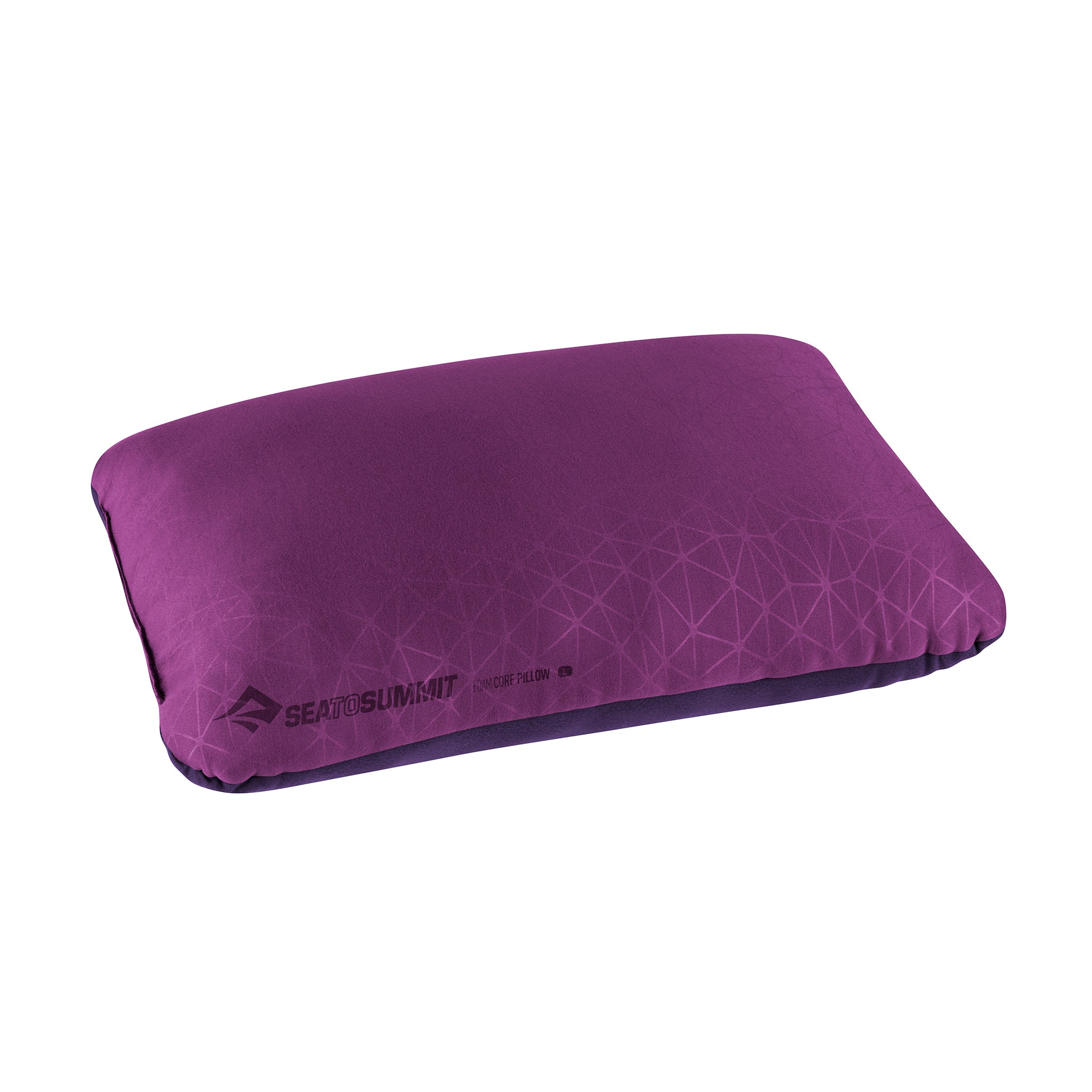 Foamcore Camping Pillow _ Magenta _ Full Size _ Large