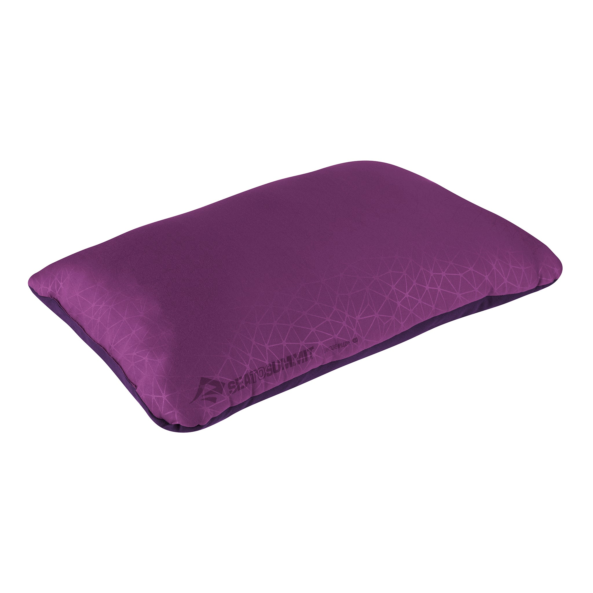 Foamcore Camping Pillow _ Magenta _ Full Size _ Deluxe