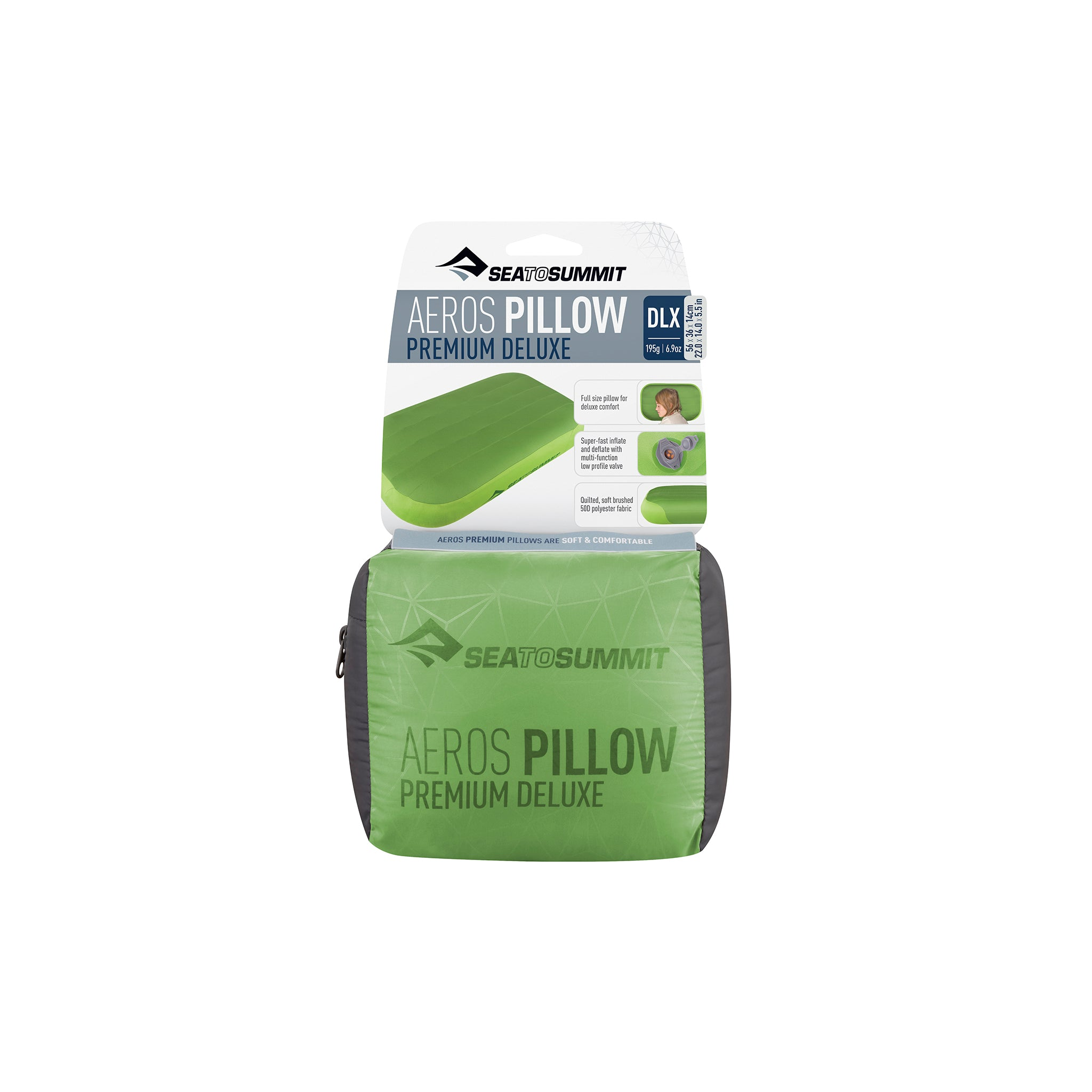 Aeros Premium Deluxe Pillow _ packaged