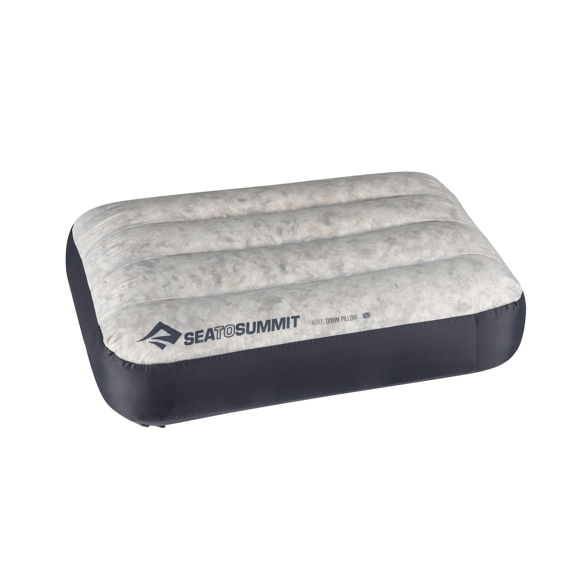 Aeros Down Pillow _ Grey _ Compact _ Large