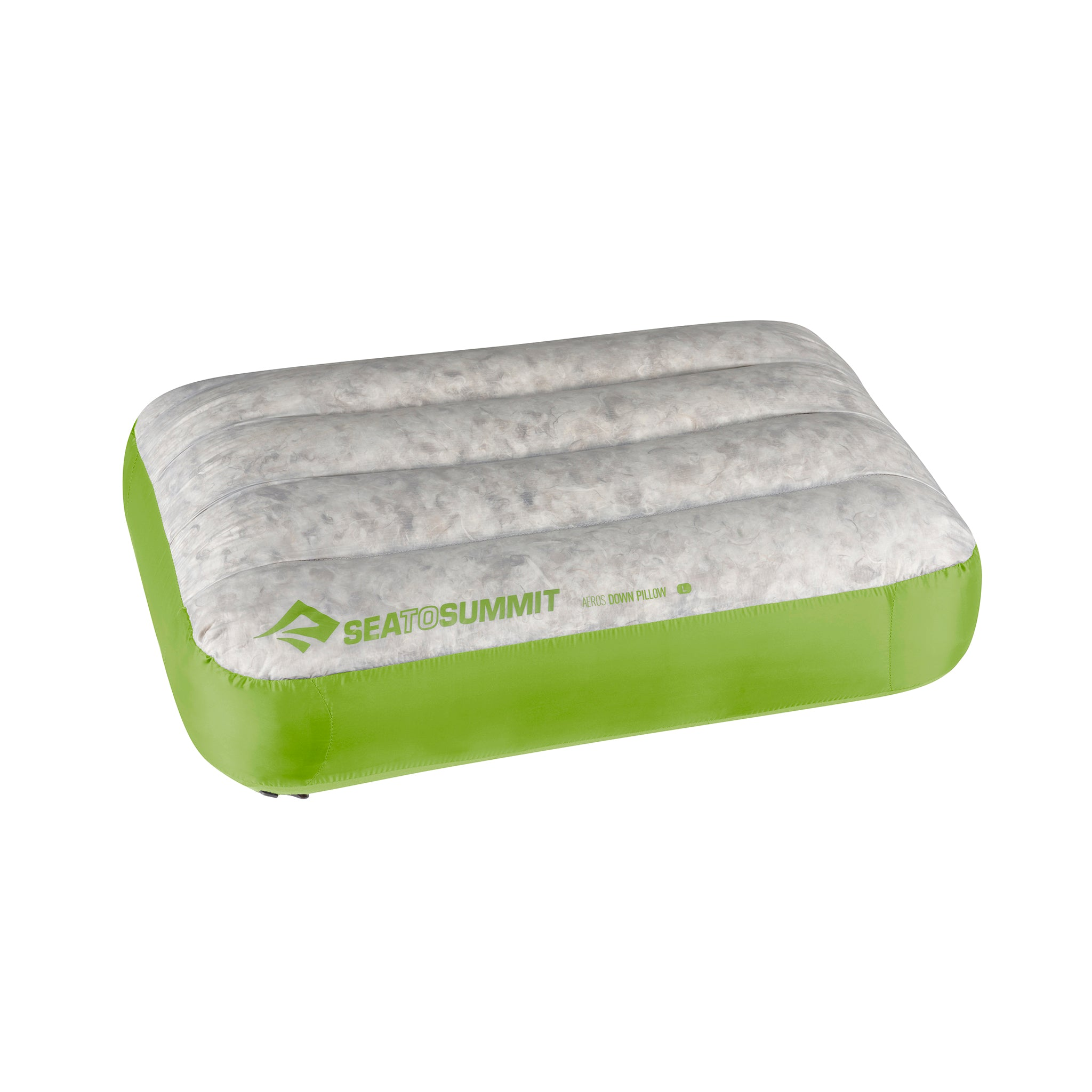 Aeros Down Pillow _ Lime _ Compact _ Large