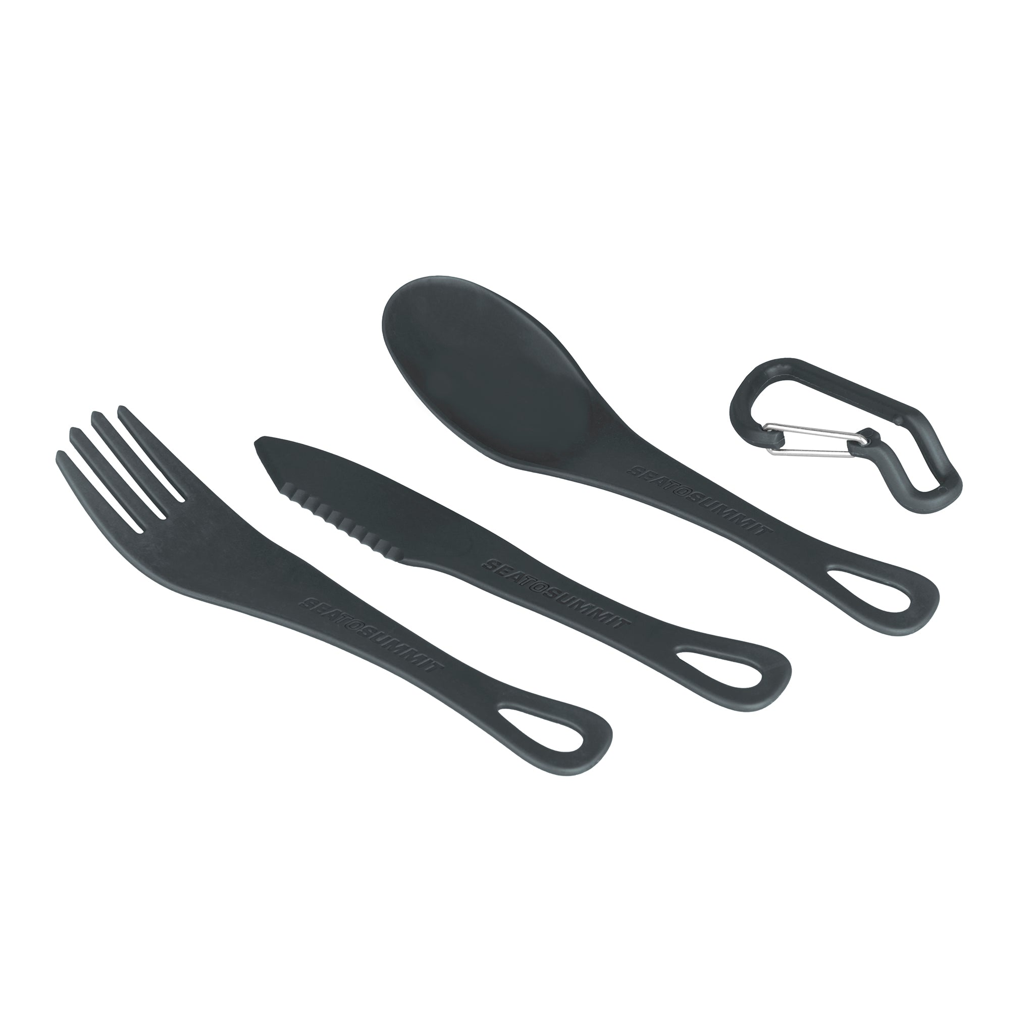 Delta Light Camp Set 2.2 _ two person camping dinner set _ cutlery grayDelta Light Camp Set 2.2 _ two person camping dinner set _ cutlery gray
