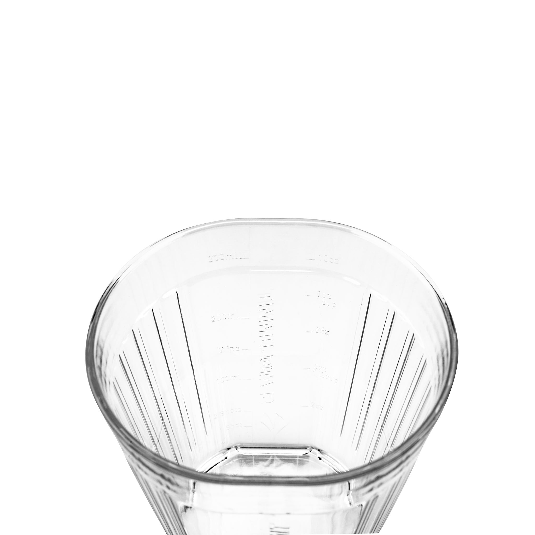 Delta Light Tumbler _ reusable clear camping cup _ lightweight