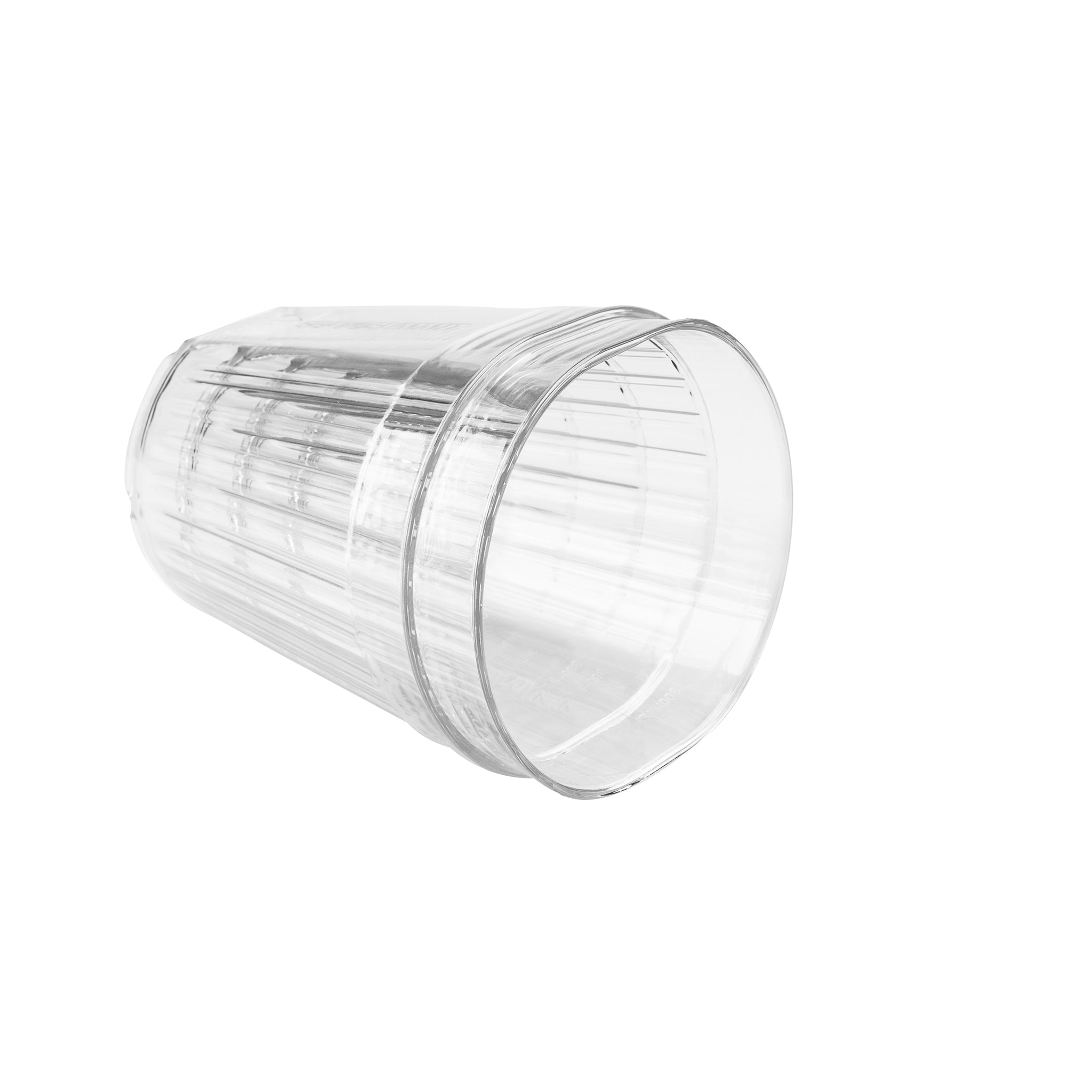Delta Light Tumbler _ reusable clear camping cup