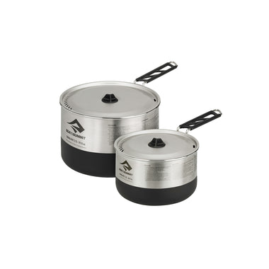 Sigma 2 Pot Stainless Steel Cookset for Camping