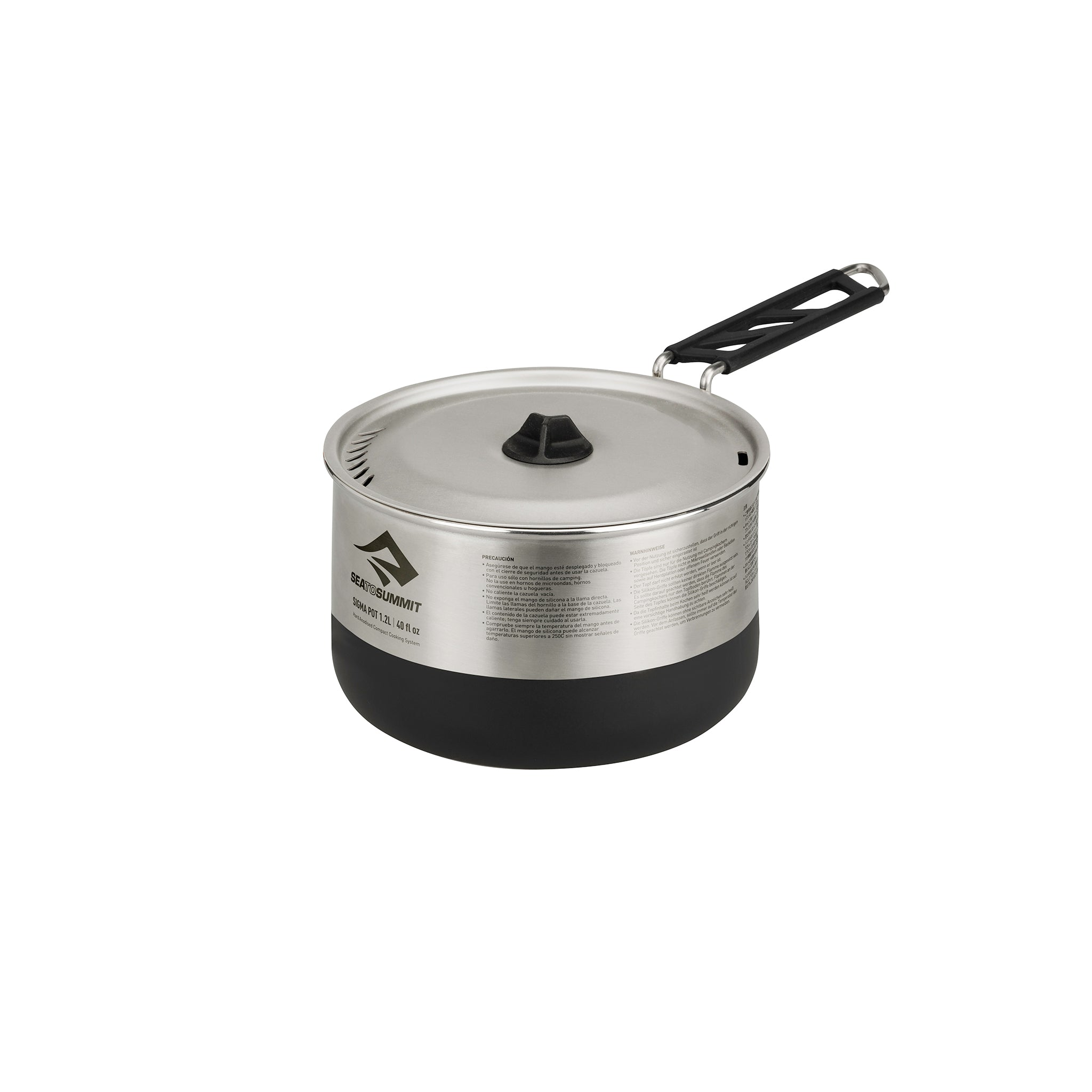 Sigma Stainless Steel Pot for Camping _ 1.2 Liter