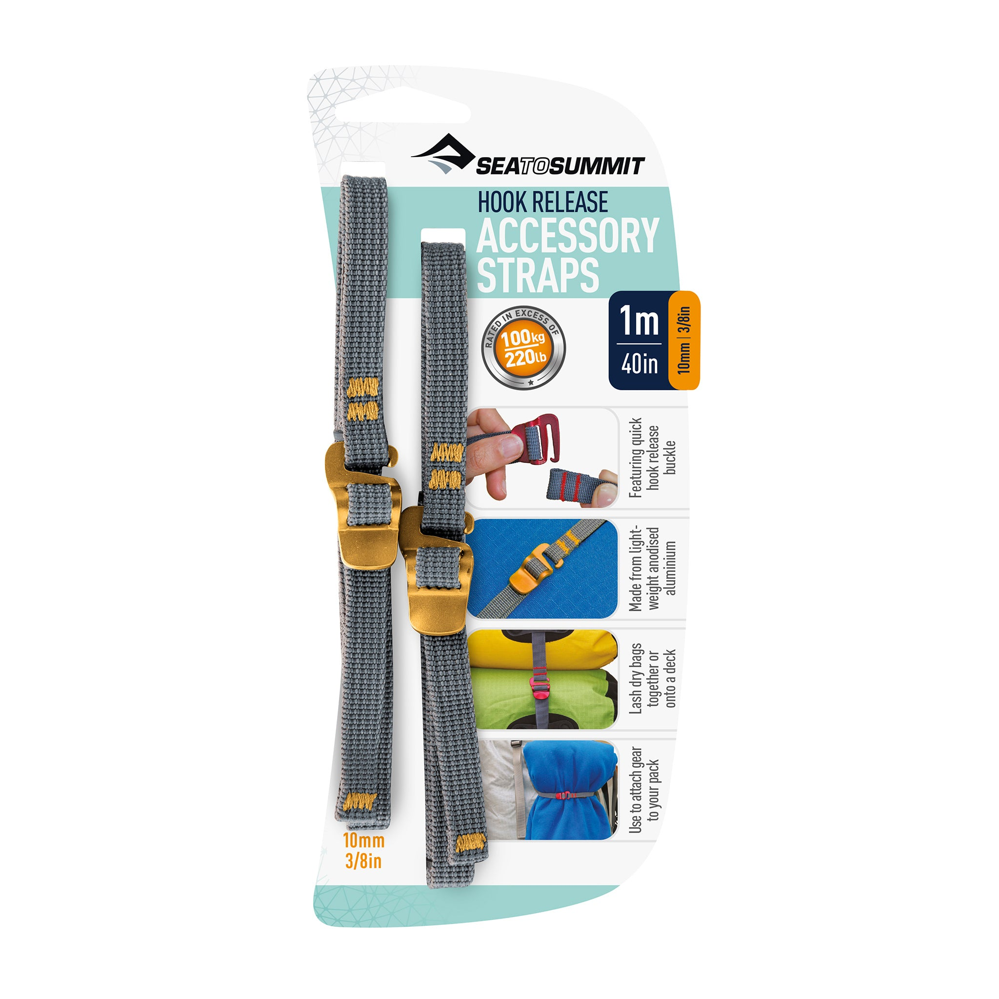 Accessory Strap with Hook Release by Sea to Summit