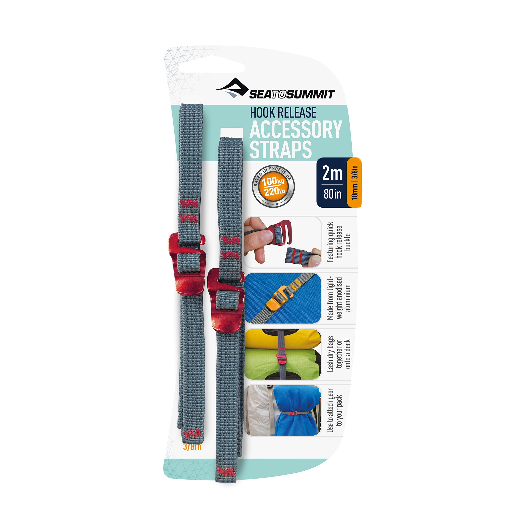 Accessory Strap with Hook Release _ 2 meters