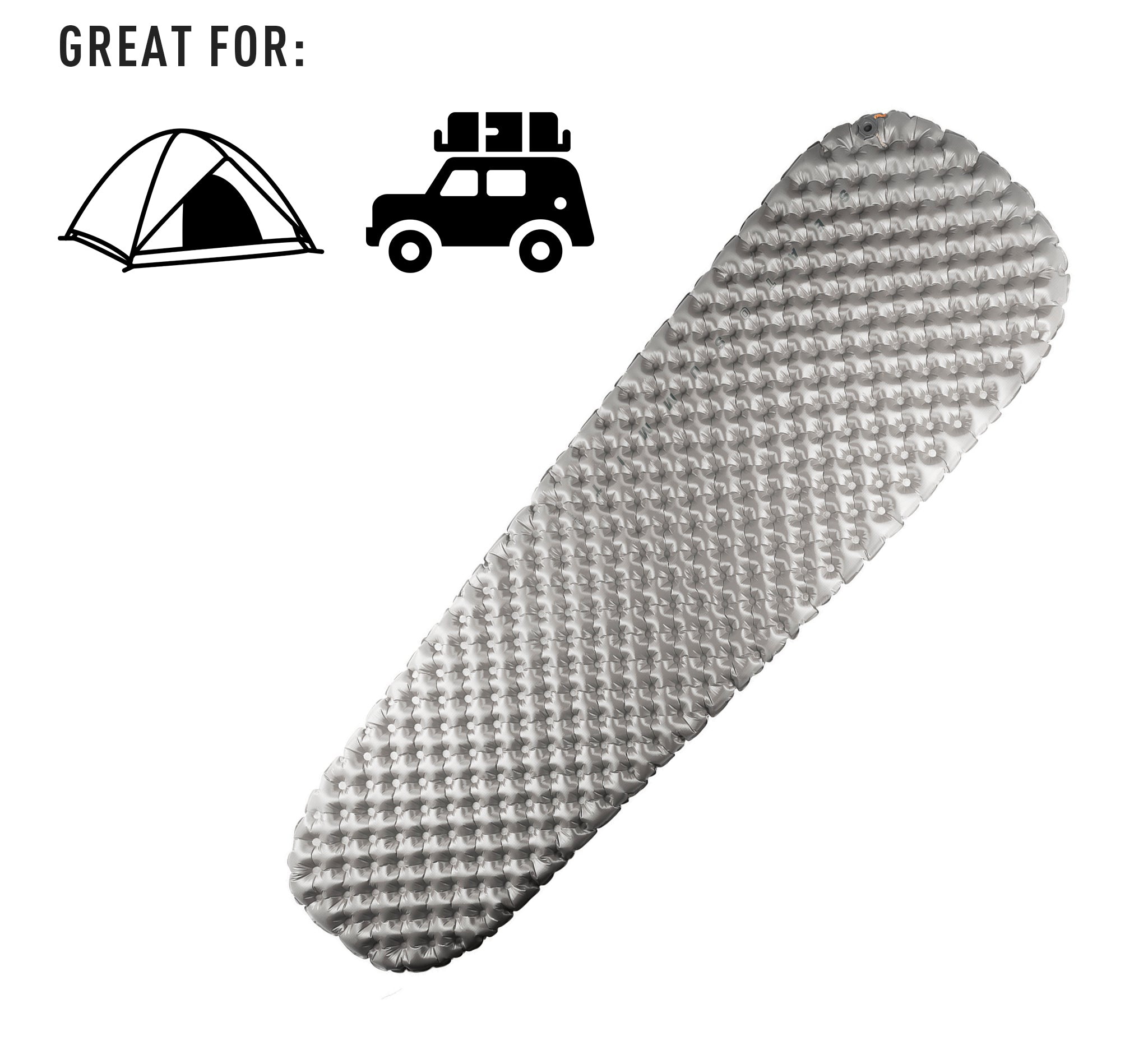 Editor's Choice award winner the Comfort Plus sleeping air mat pad