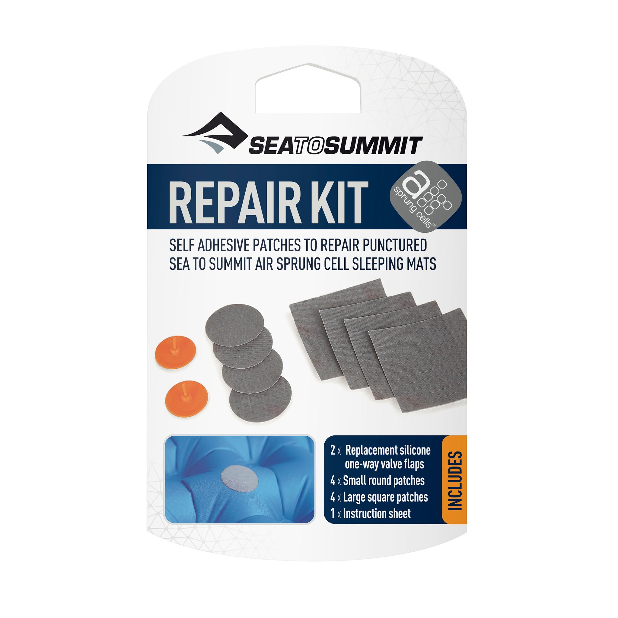 Sea to Summit sleeping mat repair kit.