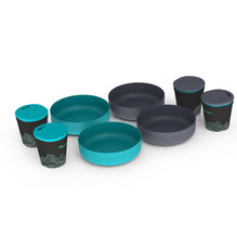 Delta Light Camp Set 4.4 (4 Bowls & 4 Mugs)