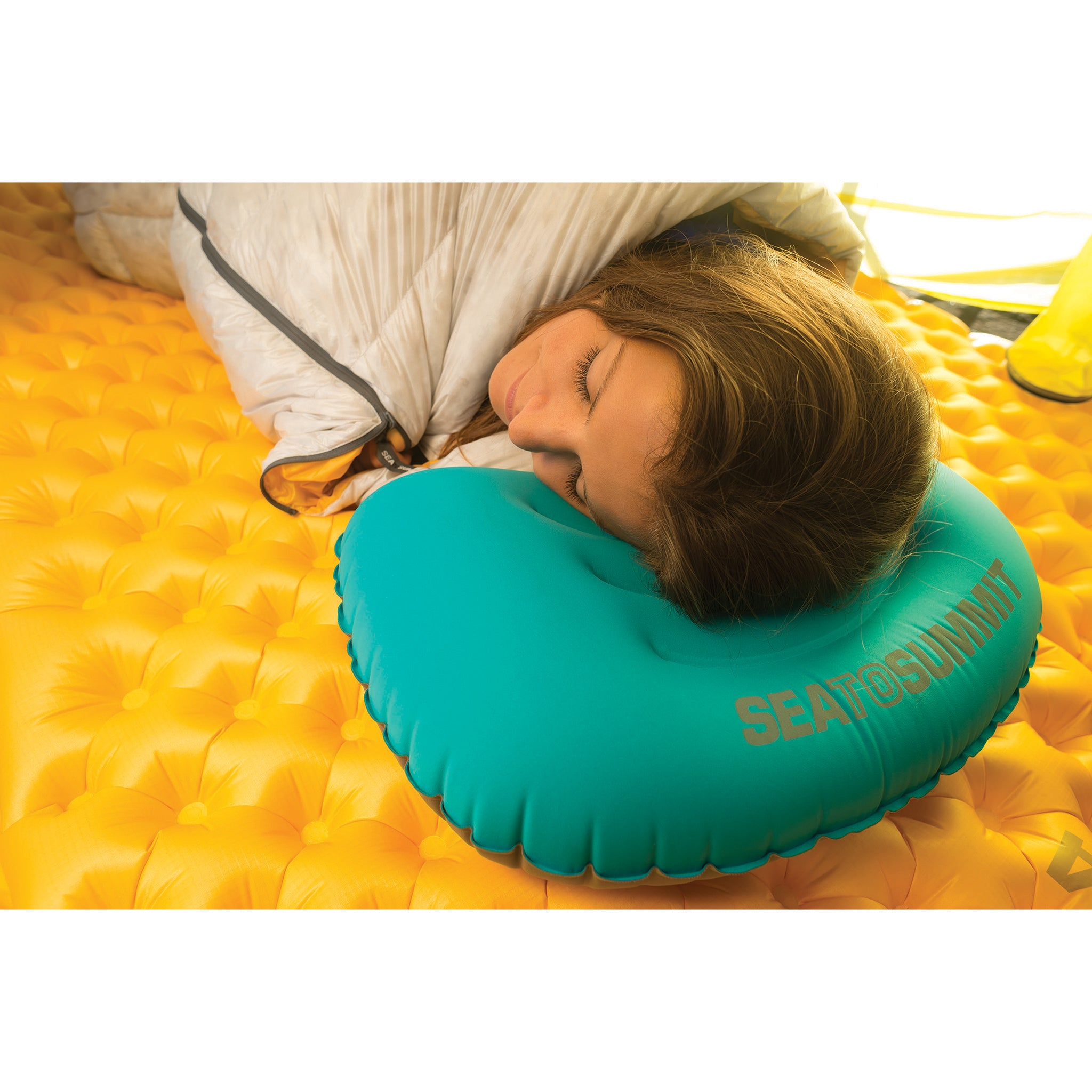 Aeros Ultralight large is perfect as a camping pillow.
