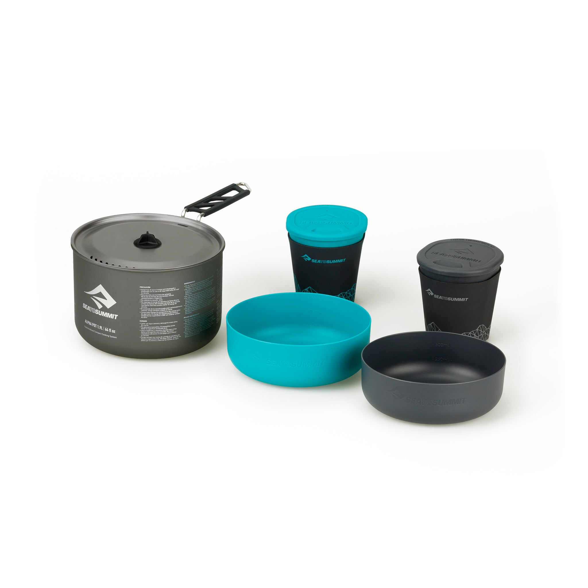 Alpha Cook Set 2.1 _ backpacking cookware _ bowl cup _ two person