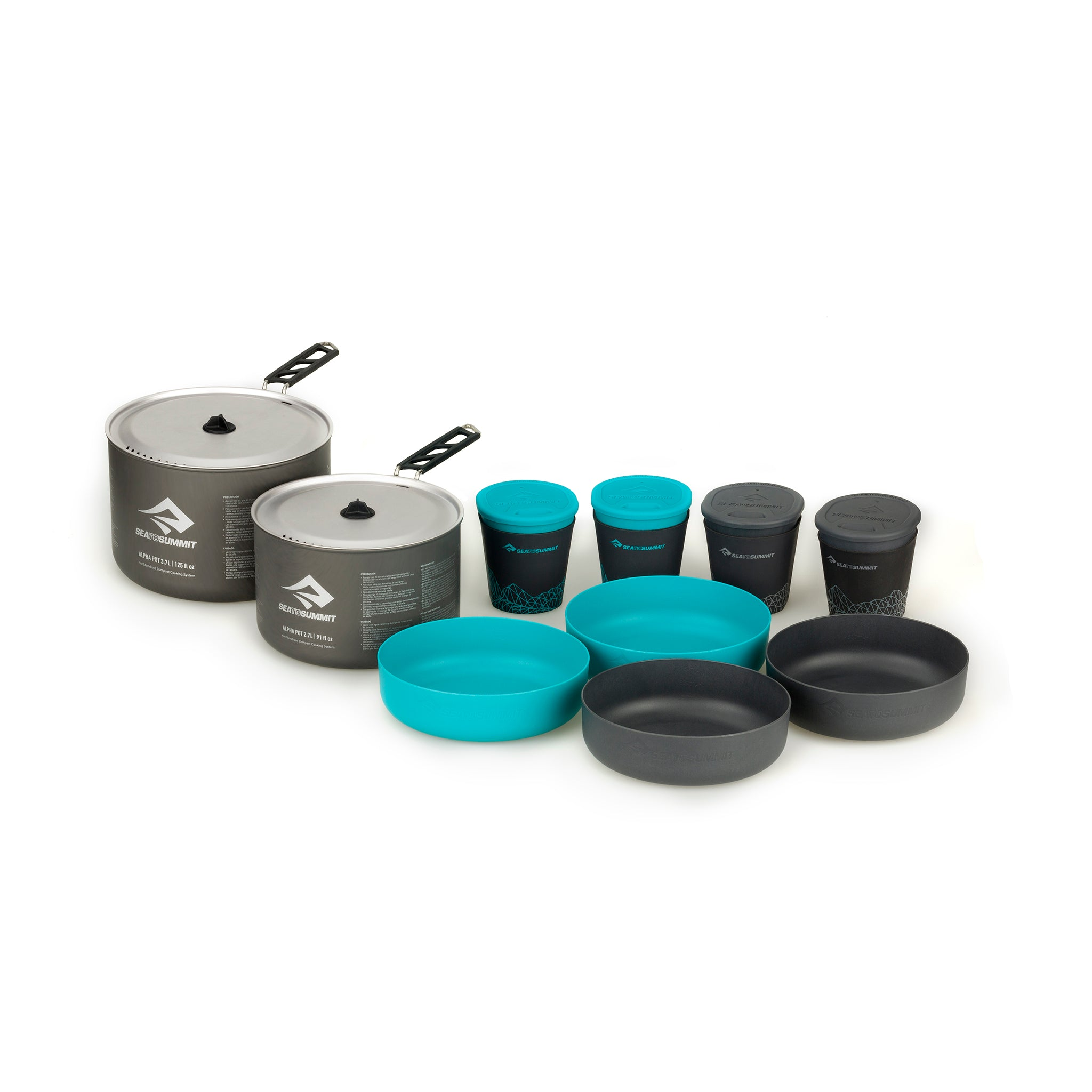Alpha 2 Pot Cook Set 4.2 _ backpacking cook set _ pot bowl and mug _ family