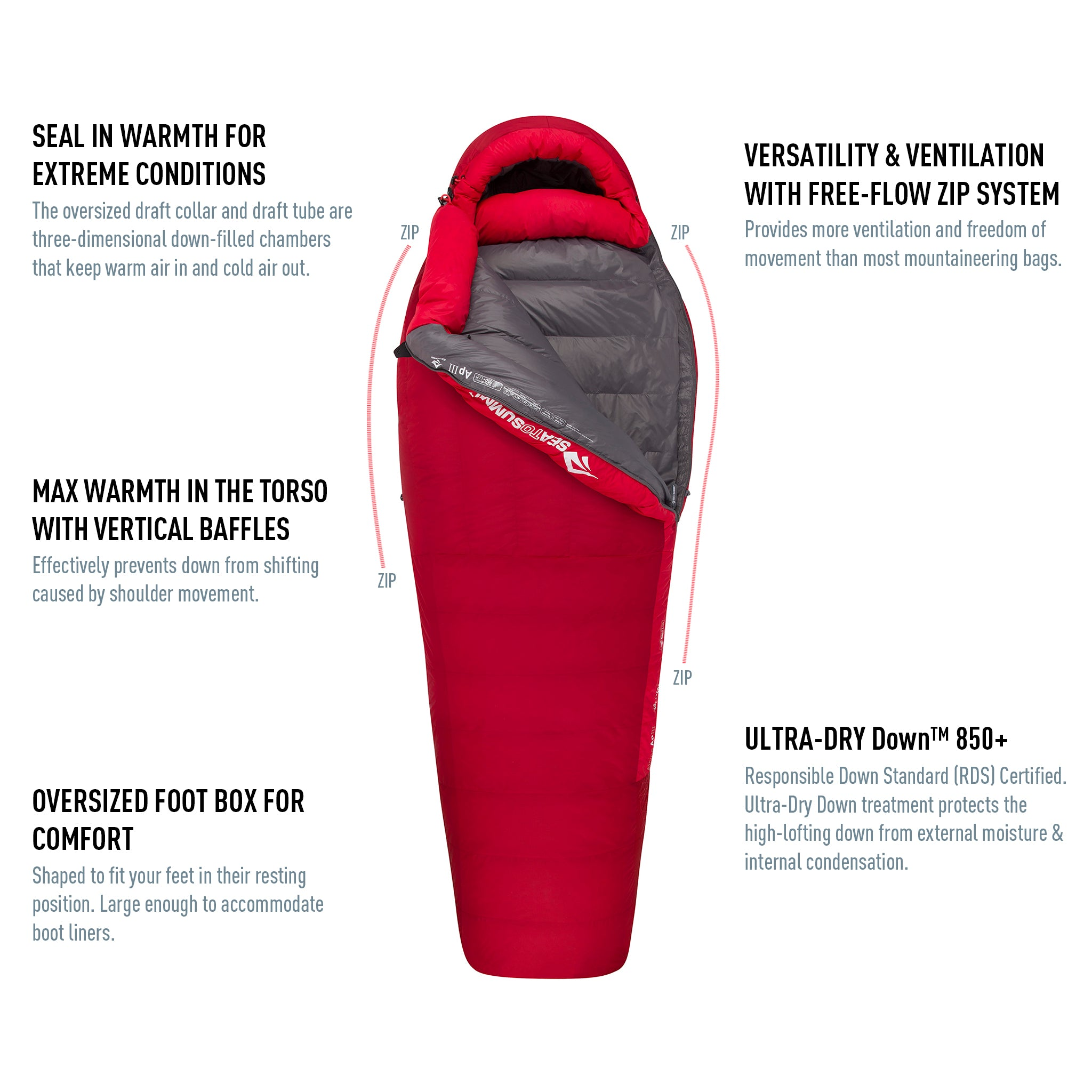 Alpine™ Down Winter Sleeping Bag (-5°F & -40°F)