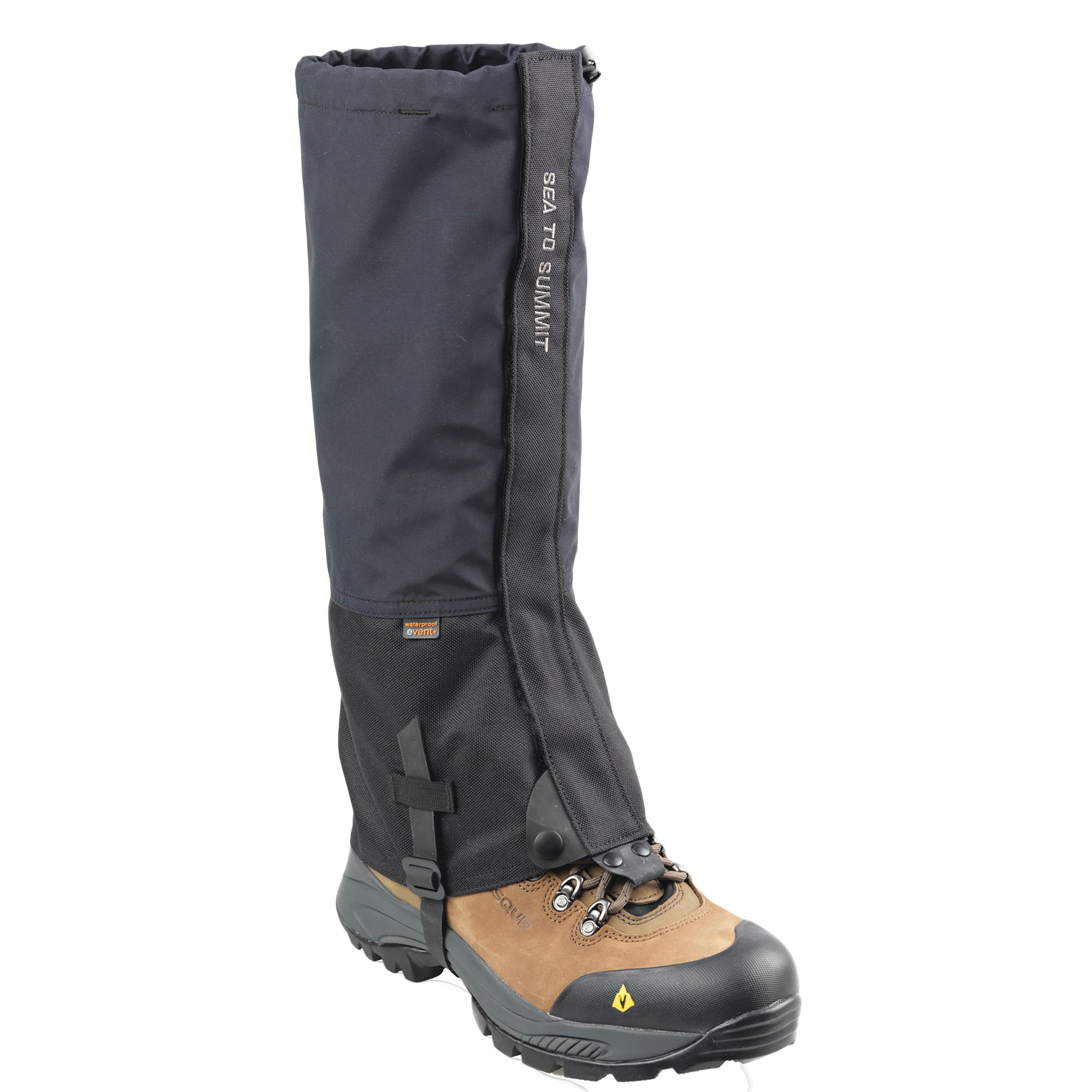 Lightweight snow hiking gaiters