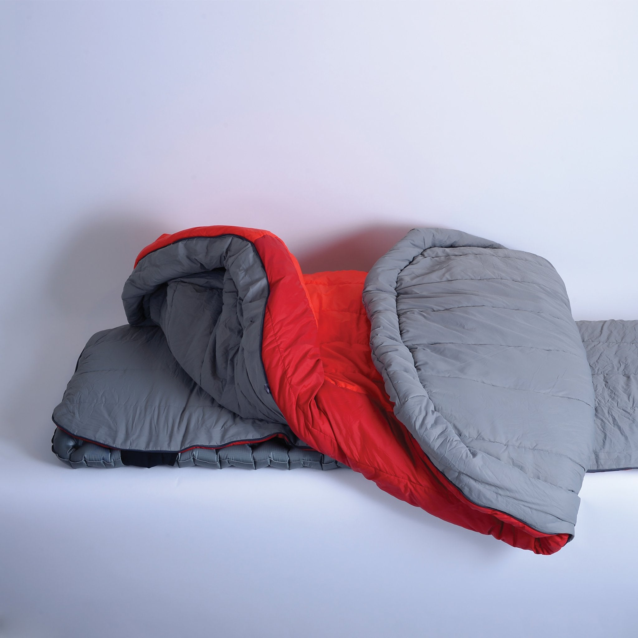 Basecamp BC Large Wide Down Camping Sleeping Bag _ full zipper