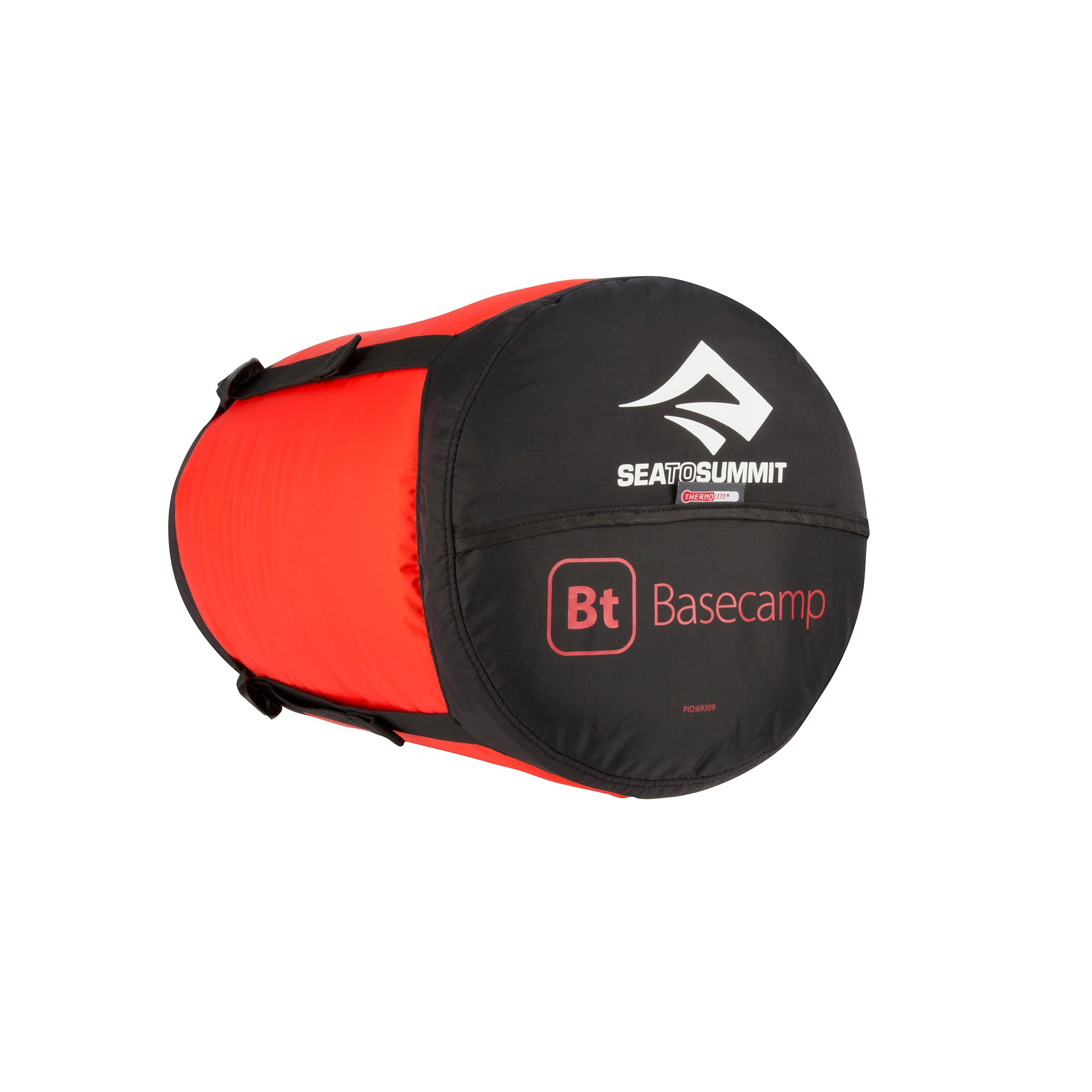 Basecamp BT  Synthetic Sleeping Bag _ compression sack