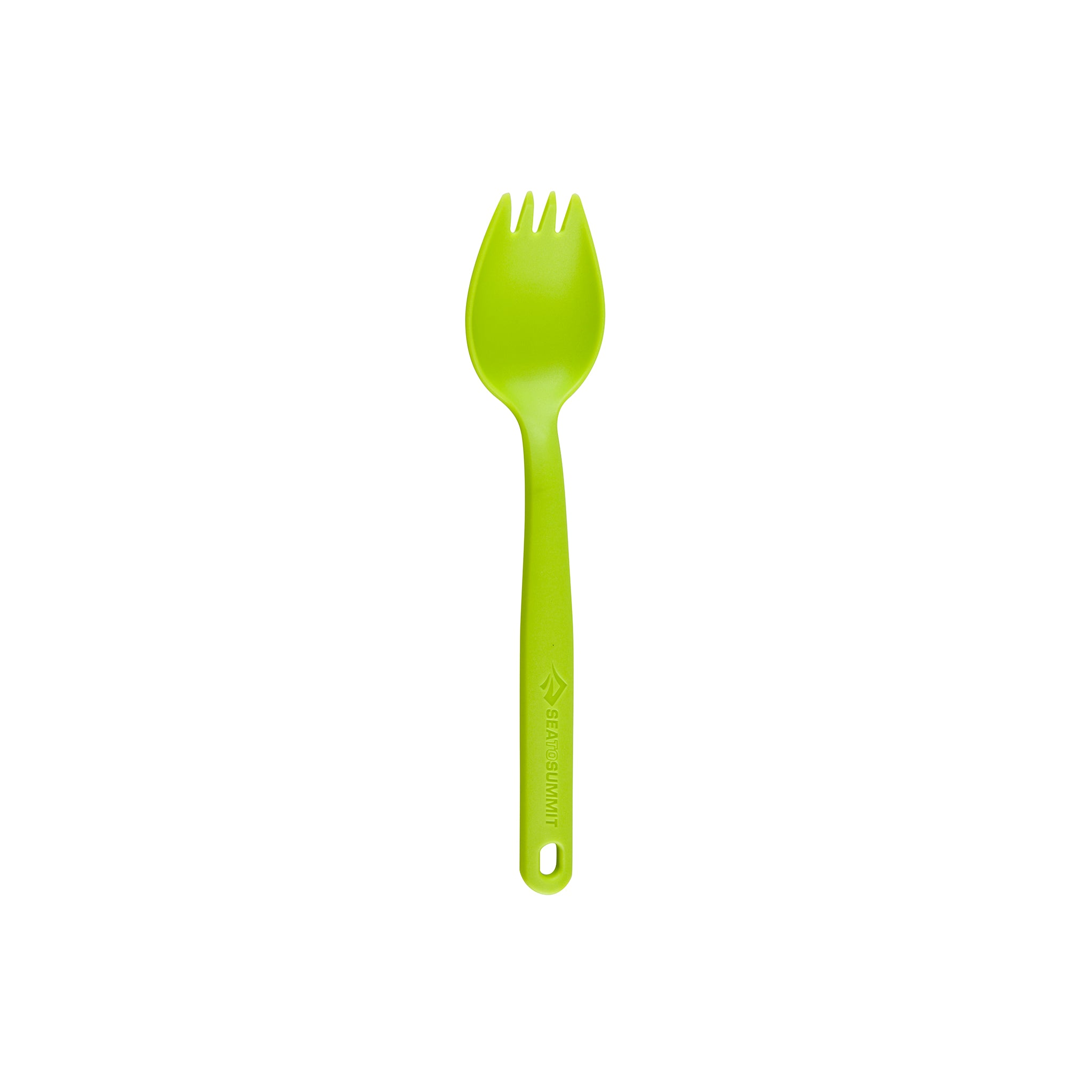 Camp Cutlery Spork _ lime _ backpacking