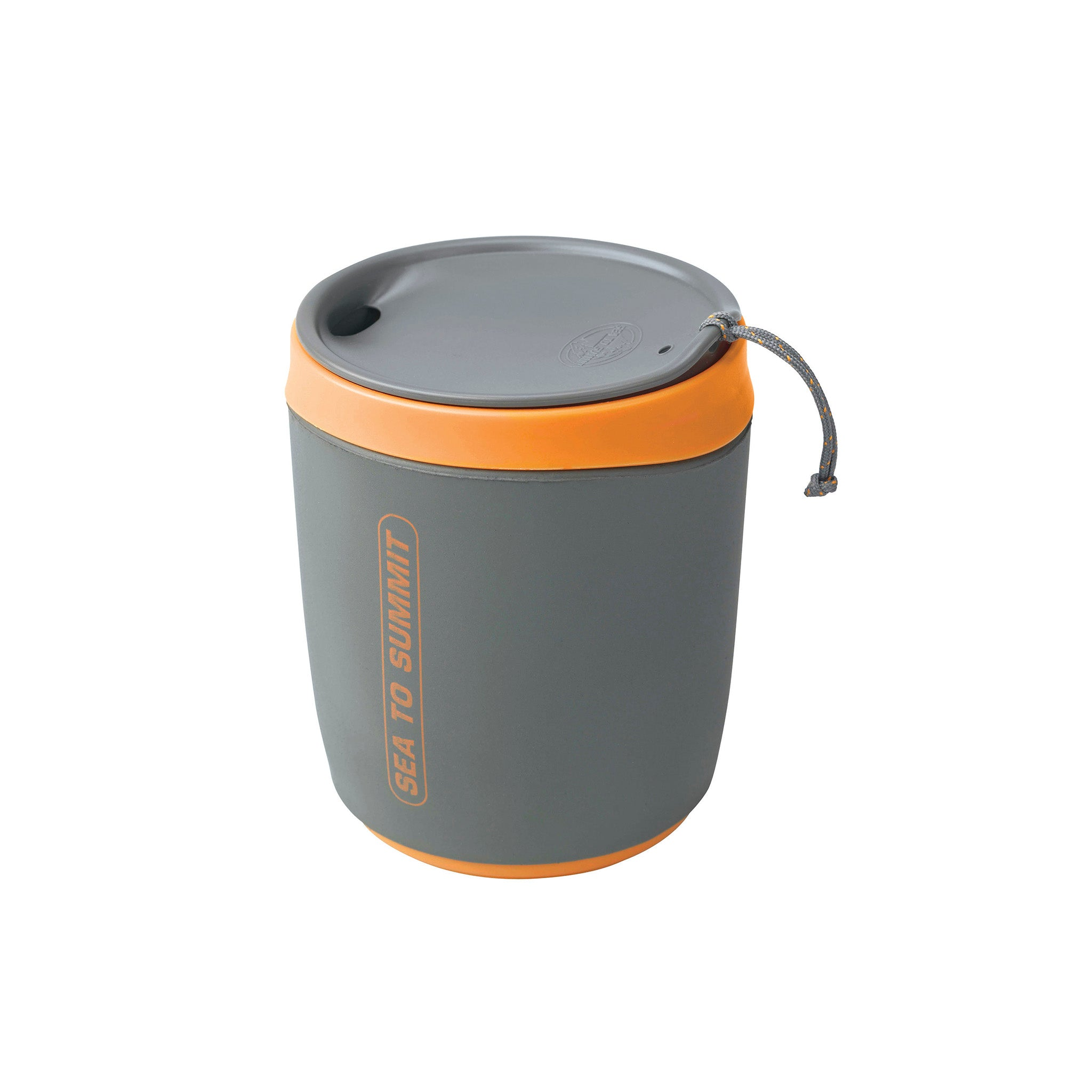 Delta Insulated Mug _ Orange _ camping mug