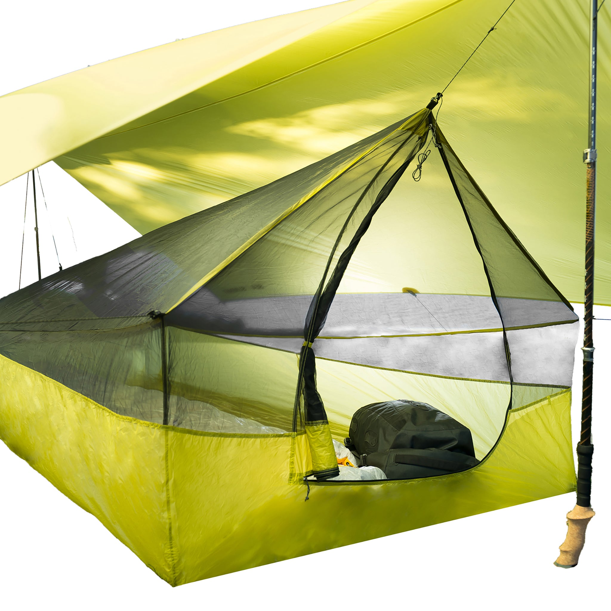 Escapist Tarp Shelter _ Ultralight Bug Net Tent