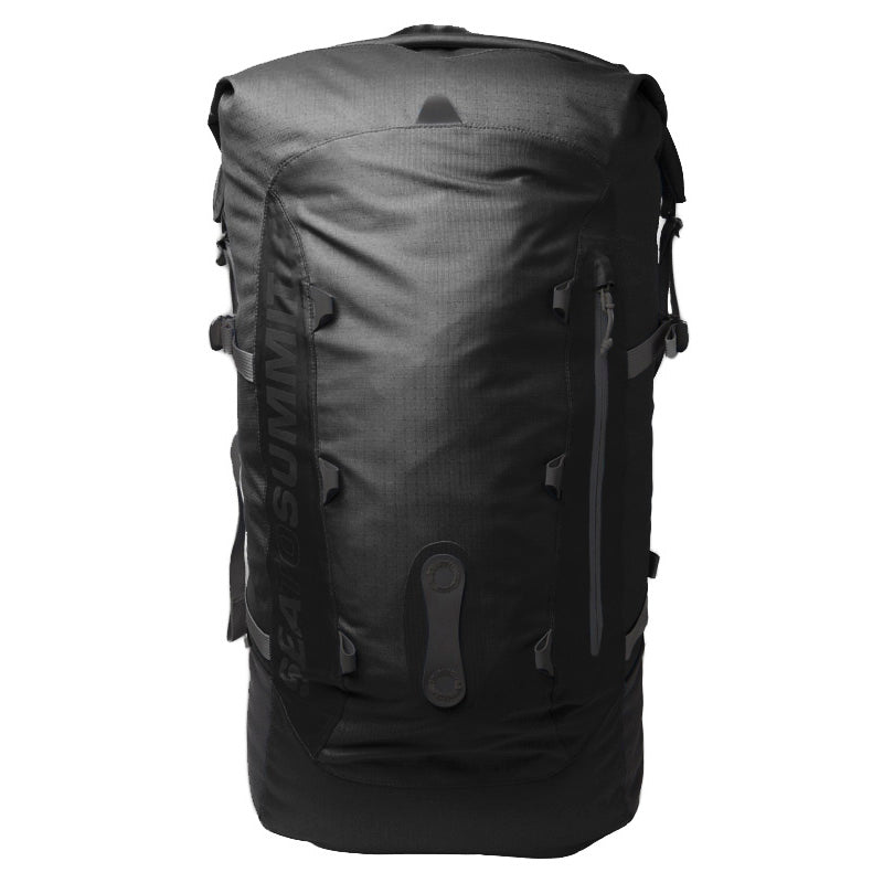 Flow 35L Drypack _ dry bag backpack _ black