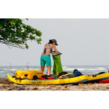 Waterproof Hydraulic 35L Dry Bag _ green _ SUP trip