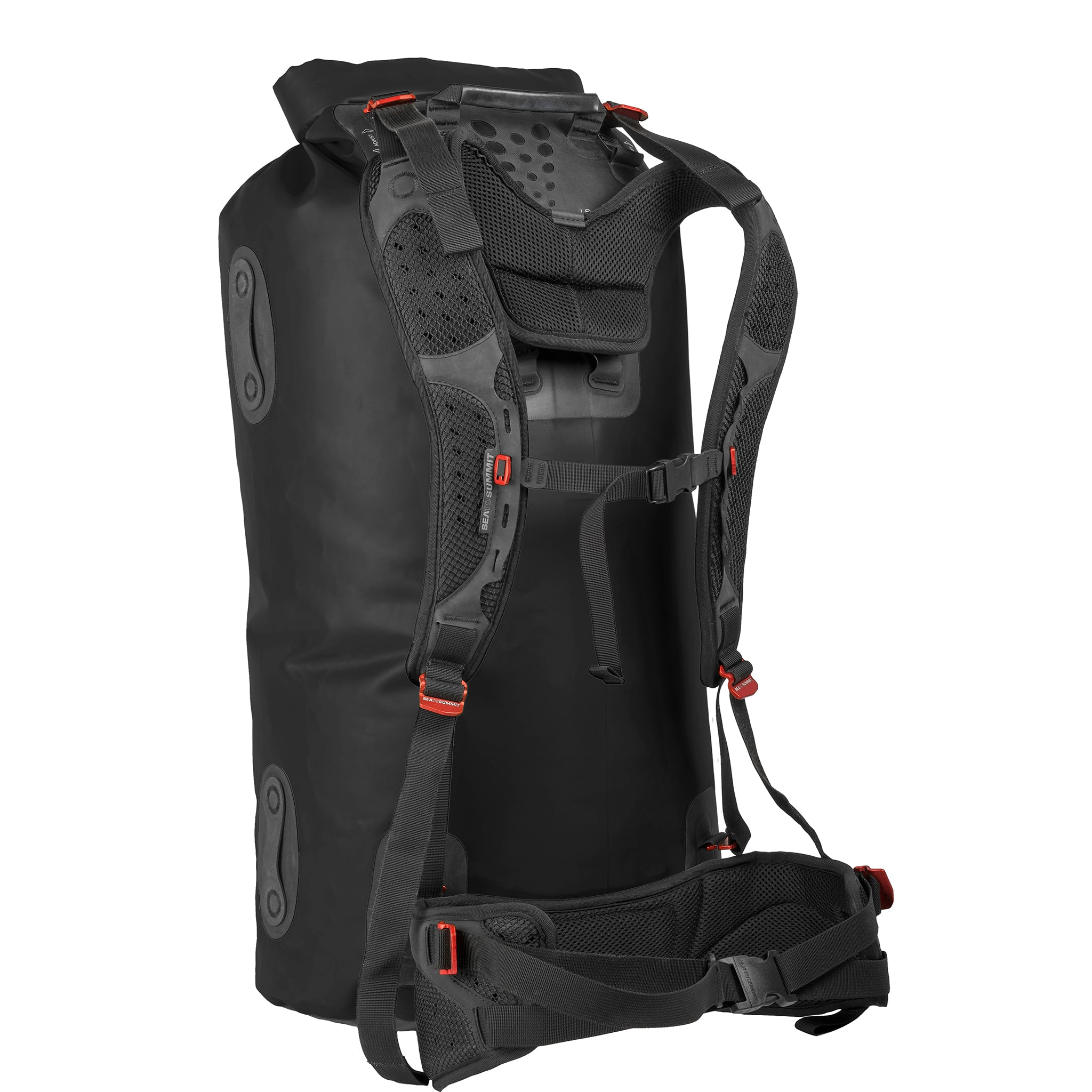 Hydraulic Dry Pack bag _ 120 liter _ black