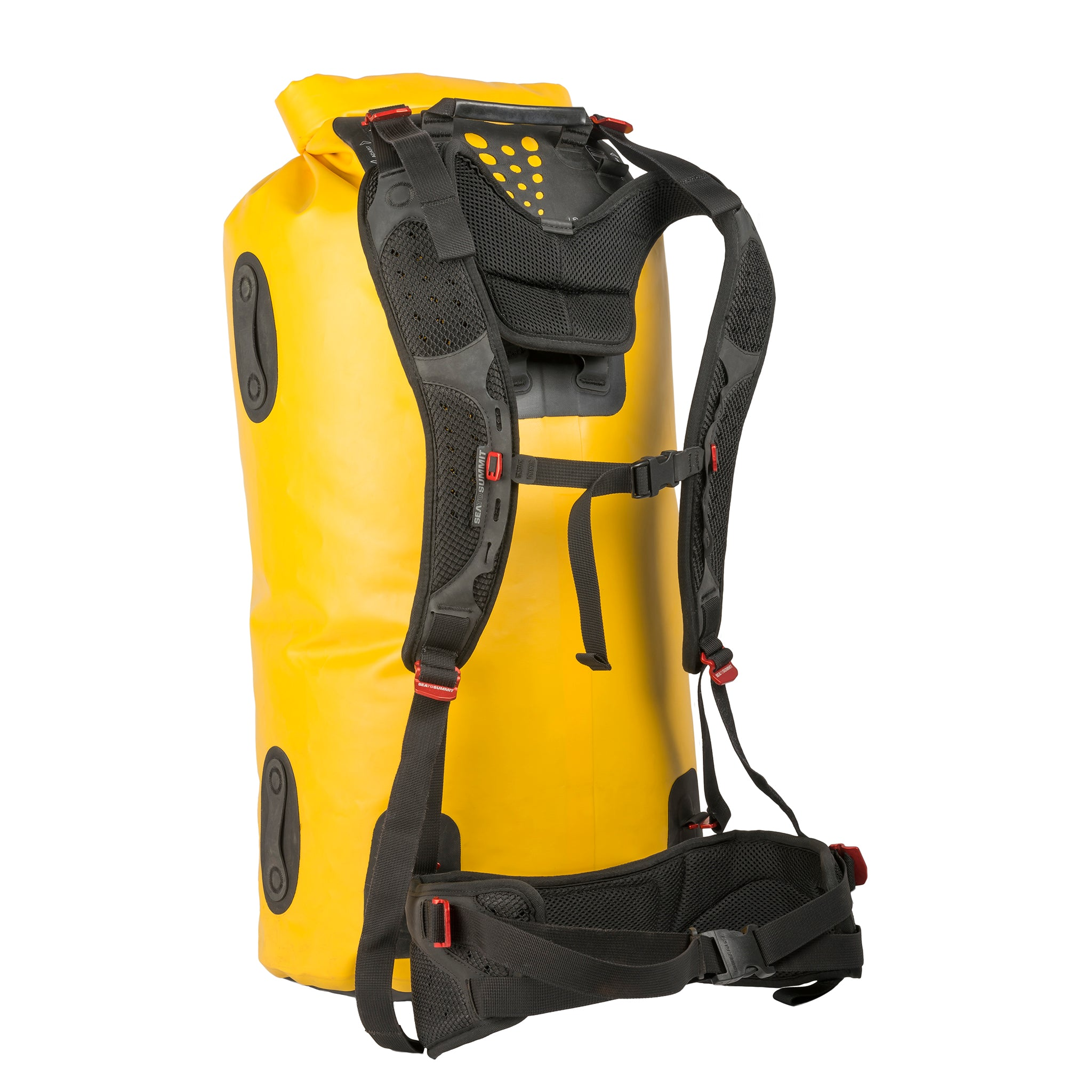 Hydraulic Dry Pack bag _ 65 liter _ yellow