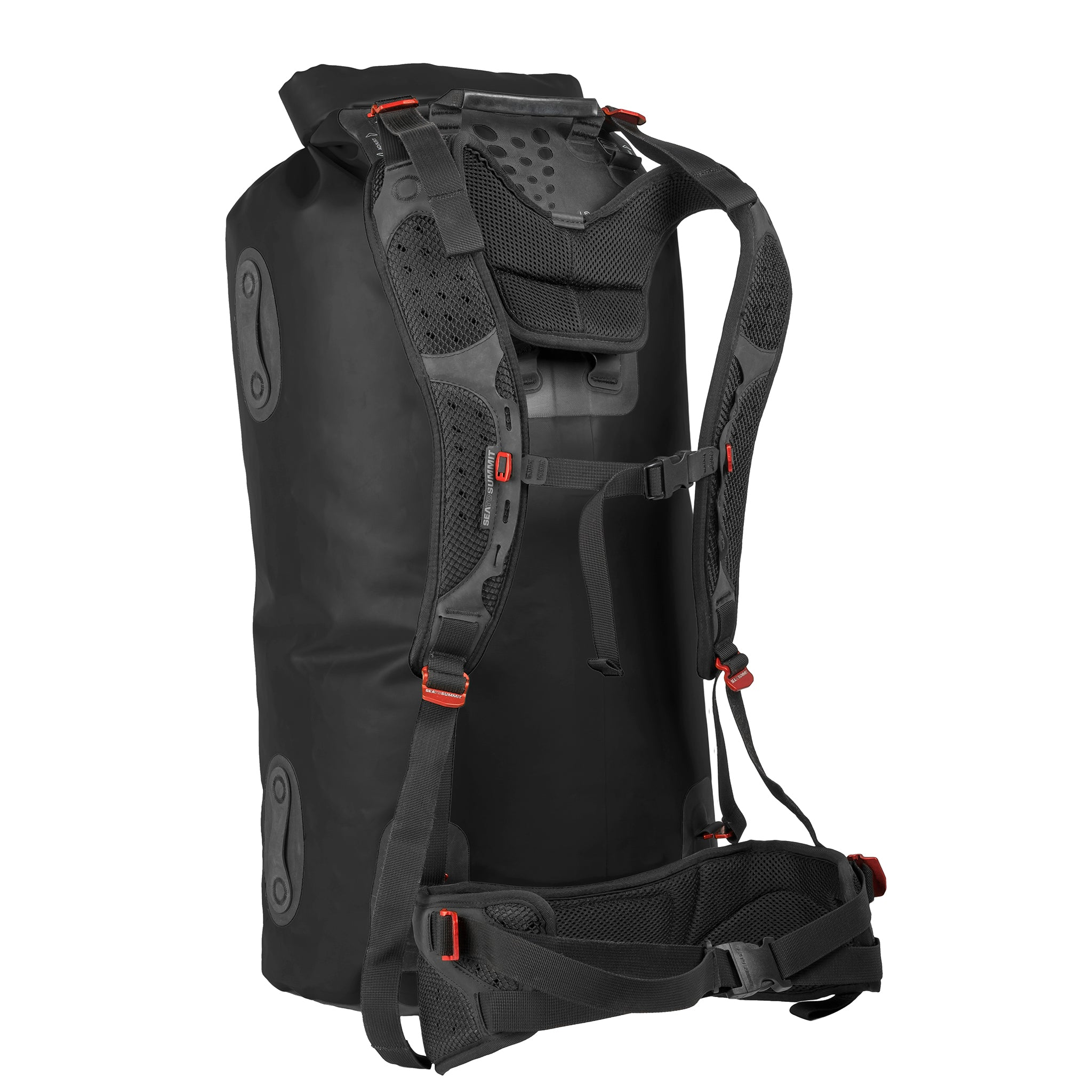 Hydraulic Dry Pack bag _ 90 liter _ black