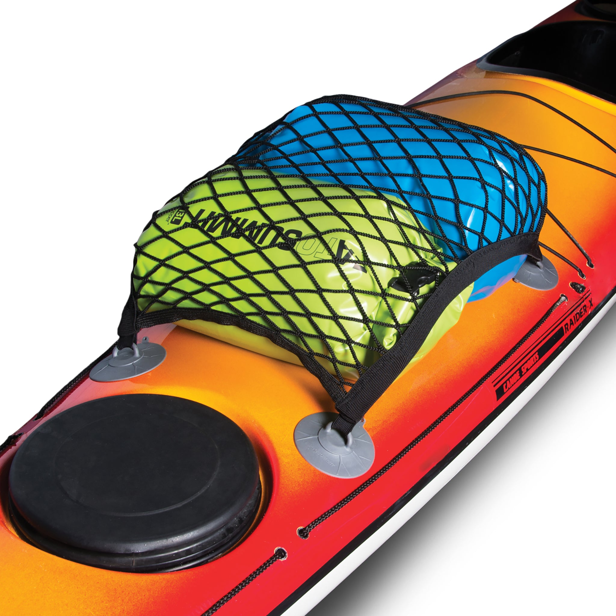 Kayak Accessories _ Deck Cargo Net _ Dry Bag storage