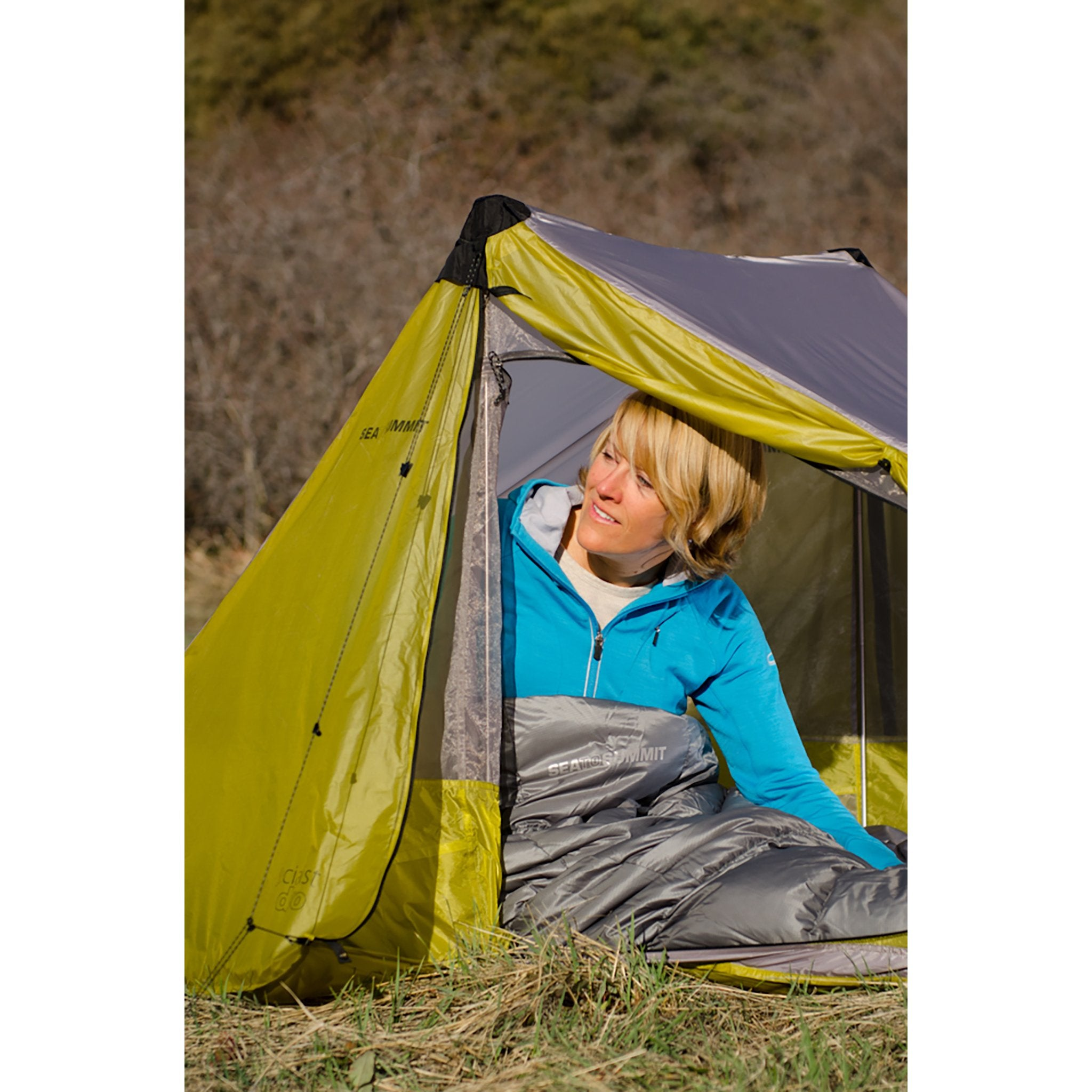 Micro MC Down Sleeping Bag _ summer backpacking