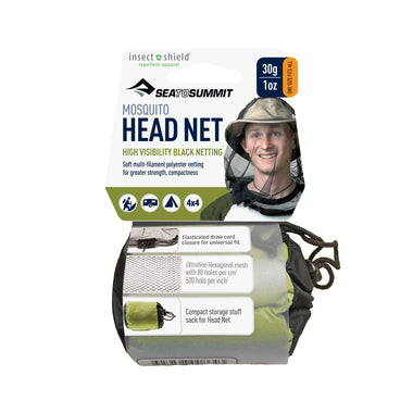 Mosquito Head Net _ with insect shield for mosquito protection