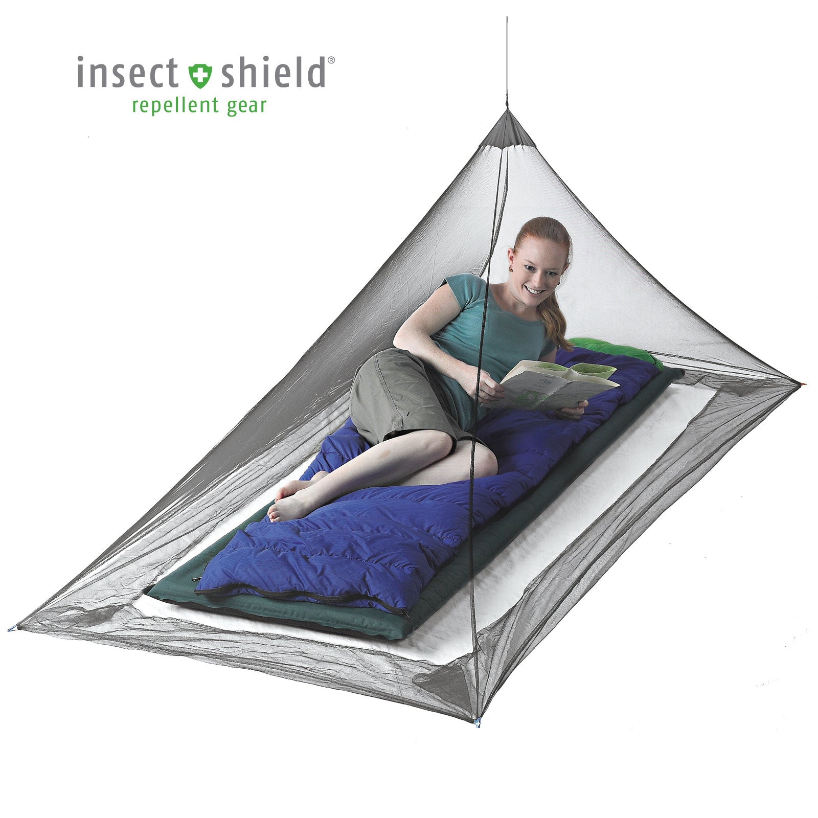 Nano Pyramid Bug Shelter _ single _ insect shield