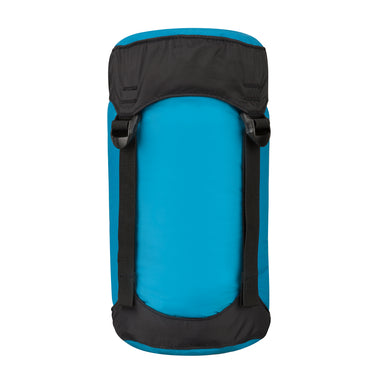 Nylon Sleeping Bag Compression Sack _ pacific blue