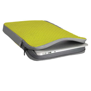 Laptop Sleeve _ foam travel protection case _ Lime